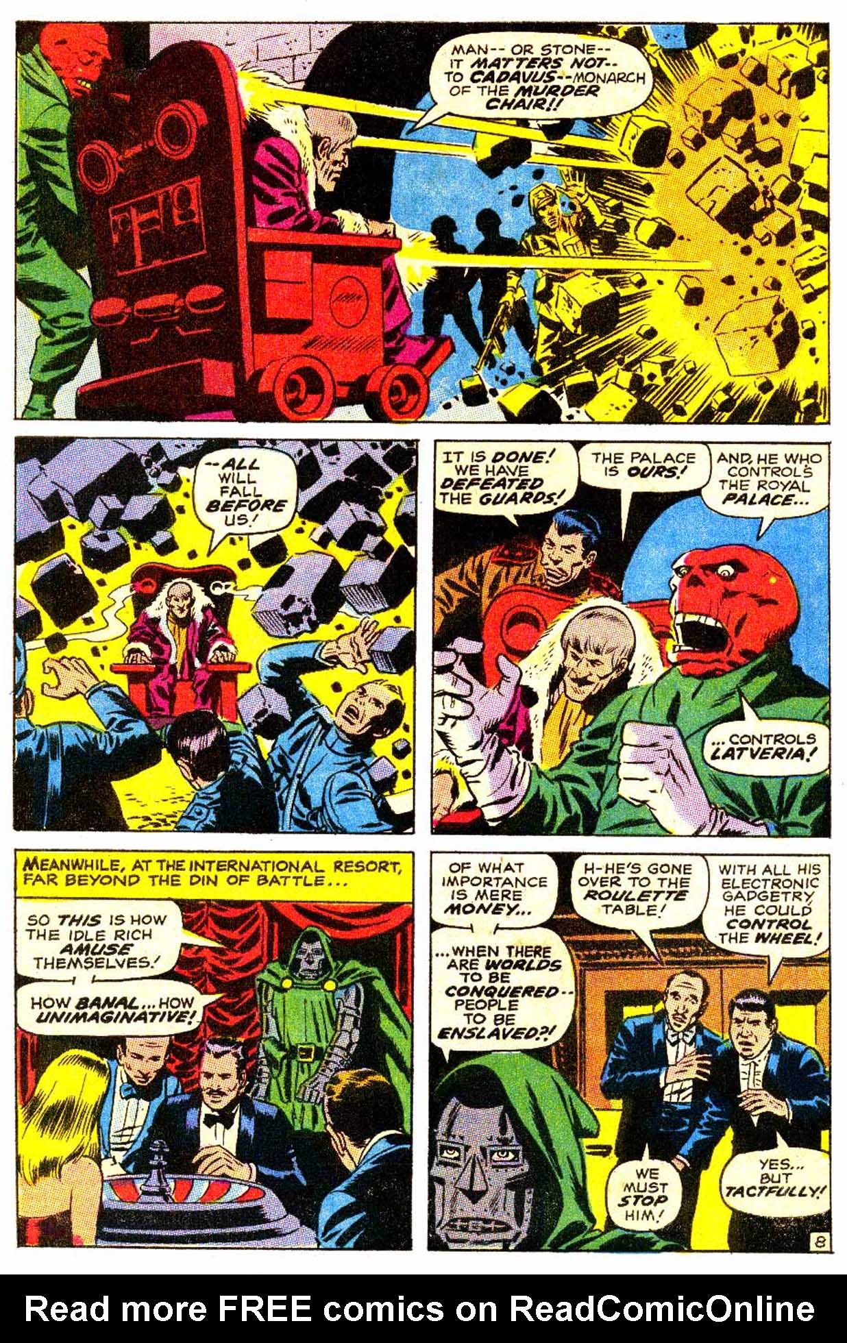 Read online Astonishing Tales (1970) comic -  Issue #4 - 9