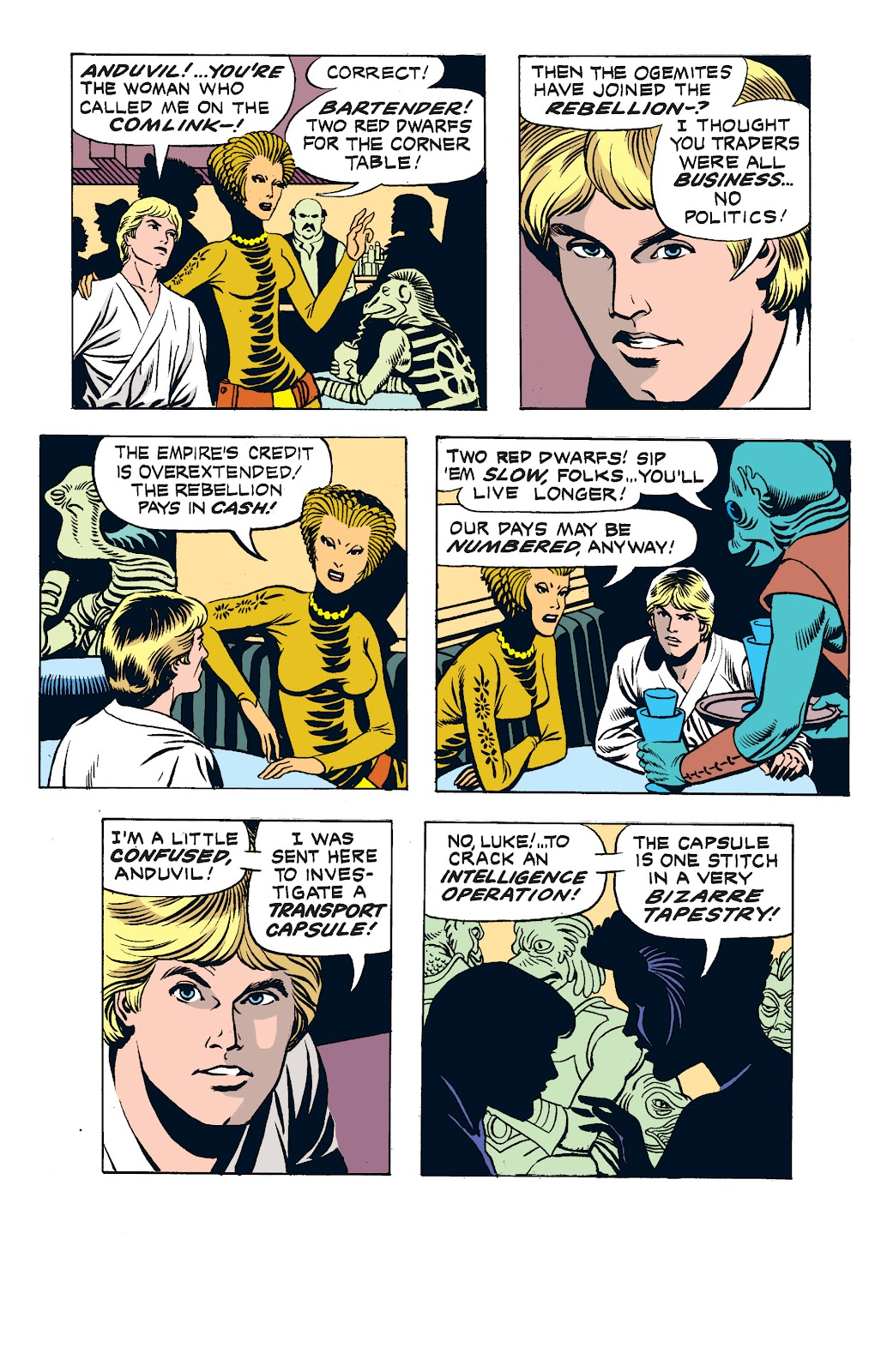 Read online Star Wars Legends: The Newspaper Strips - Epic Collection comic -  Issue # TPB (Part 2) - 29