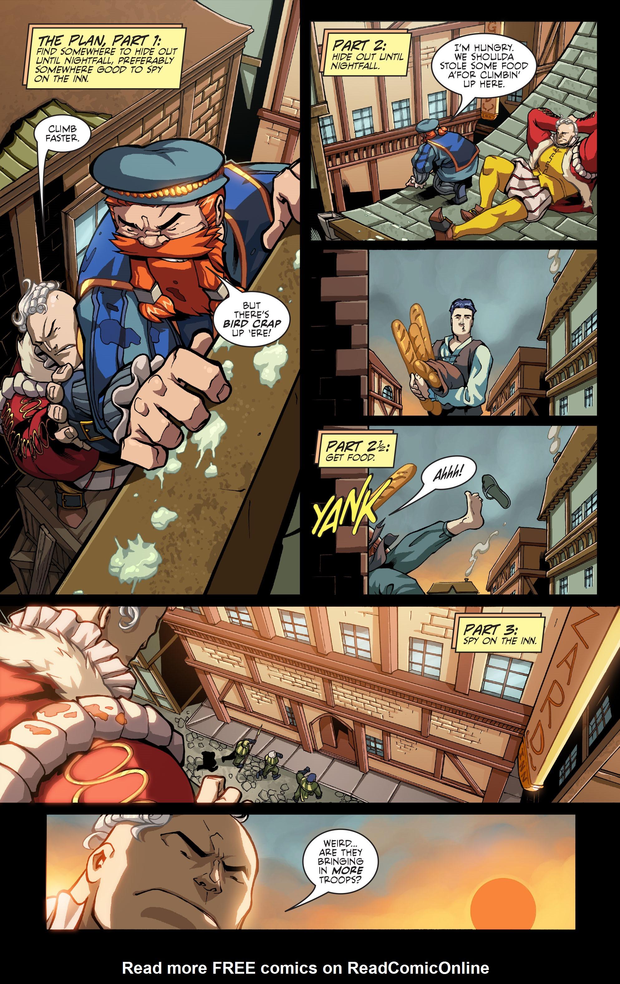 Read online Skullkickers comic -  Issue #8 - 9