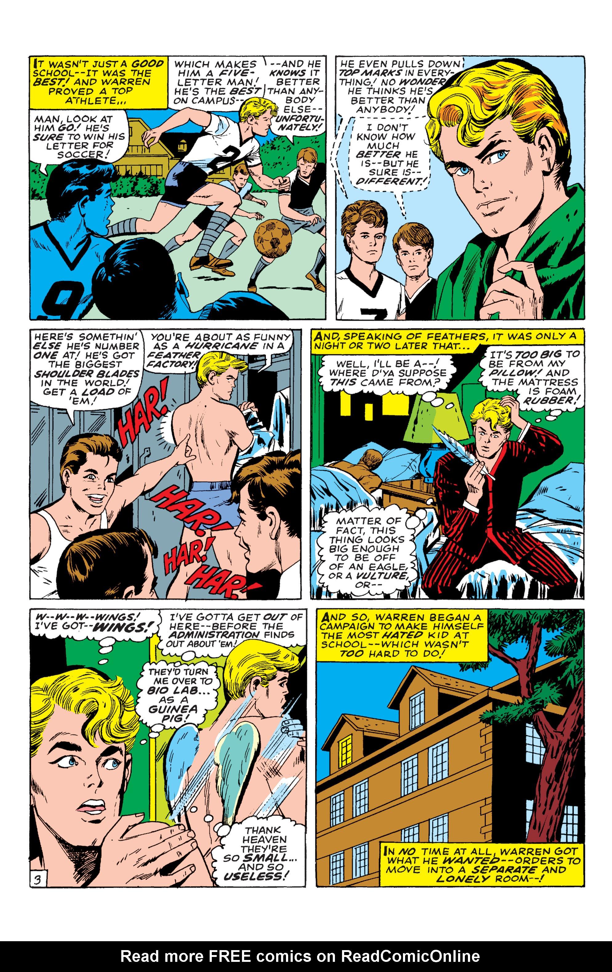 Read online Uncanny X-Men (1963) comic -  Issue #54 - 19