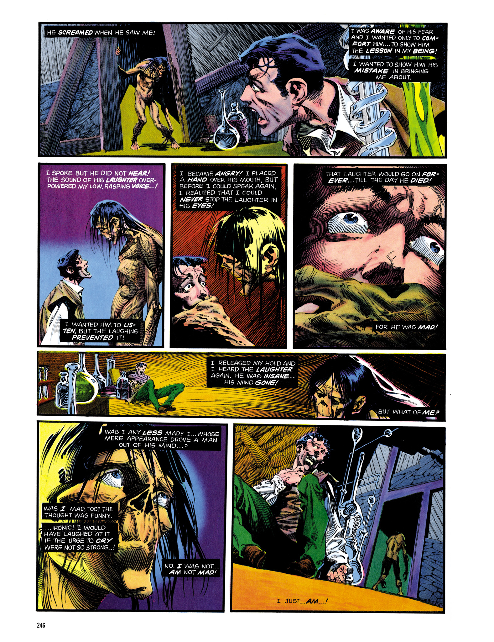 Read online Eerie Archives comic -  Issue # TPB 14 - 247
