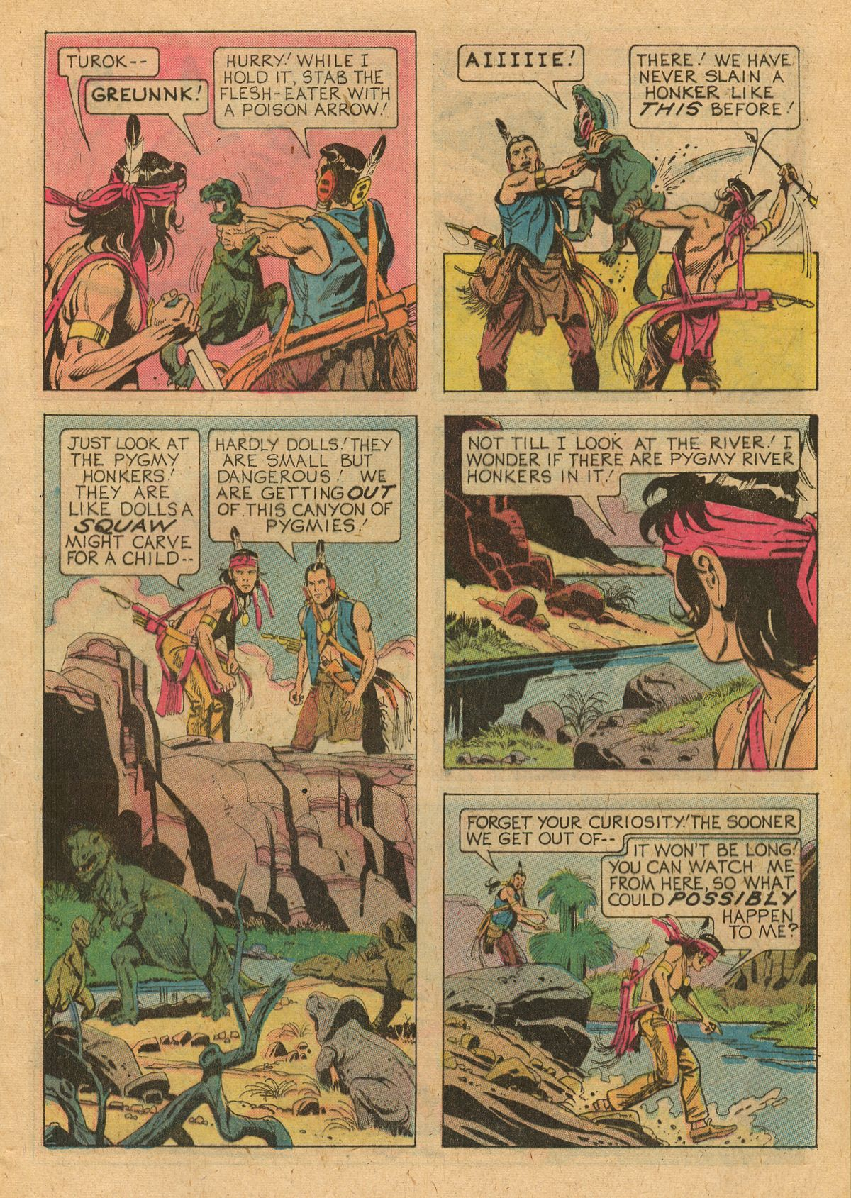 Read online Turok, Son of Stone comic -  Issue #107 - 9