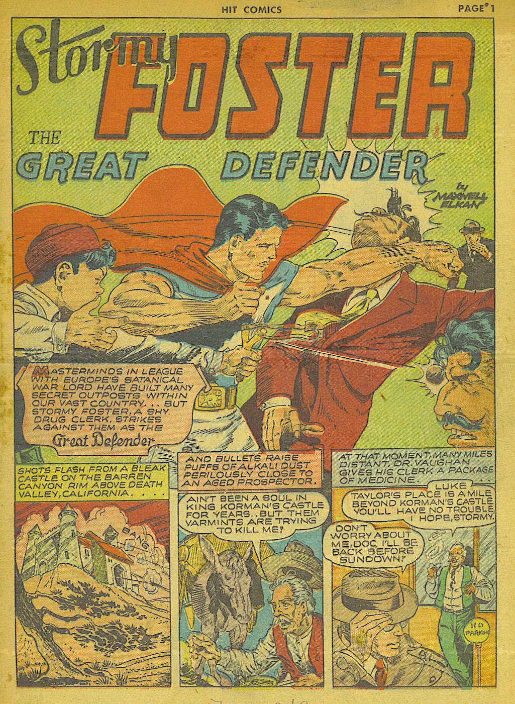 Read online Hit Comics comic -  Issue #21 - 3