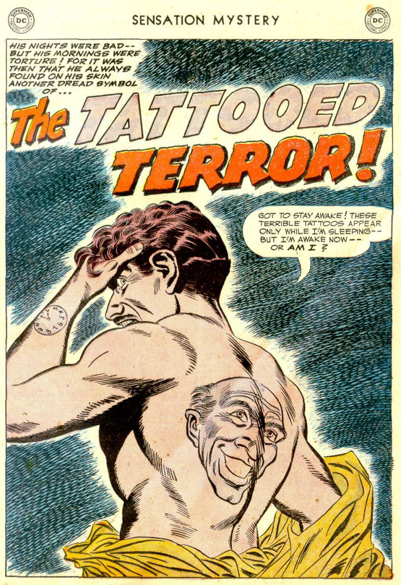 Read online Sensation (Mystery) Comics comic -  Issue #112 - 25