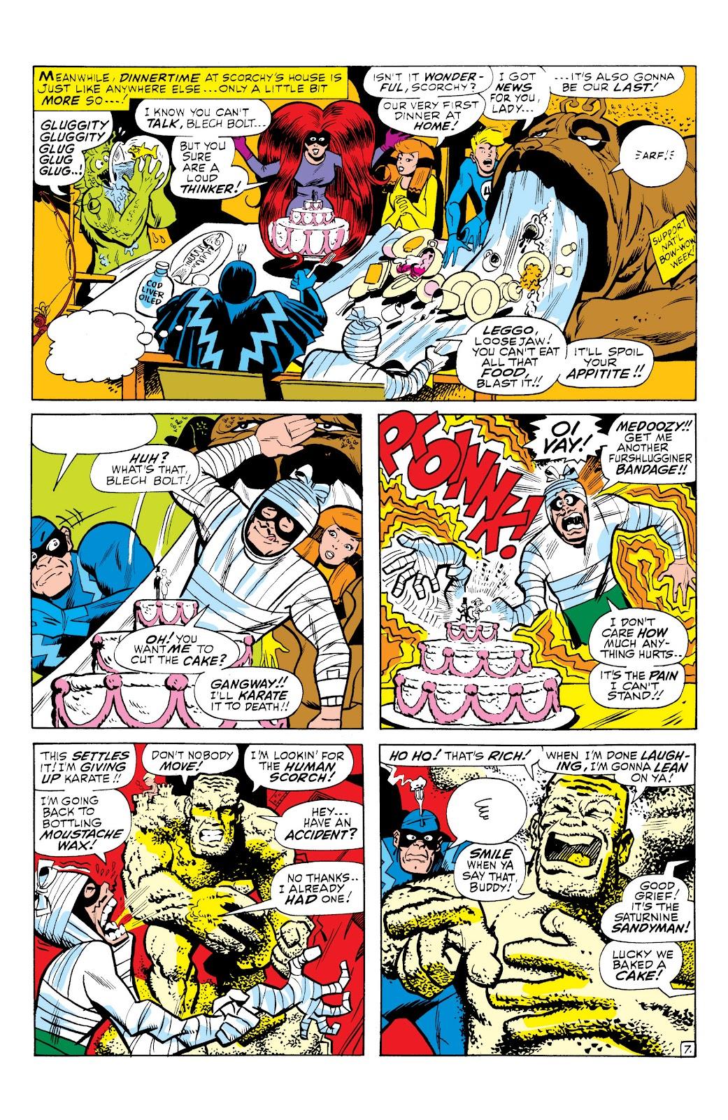 Read online Marvel Masterworks: The Inhumans comic -  Issue # TPB 1 (Part 3) - 24