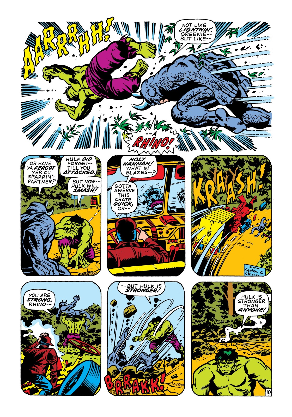 Read online Marvel Masterworks: The Incredible Hulk comic -  Issue # TPB 7 (Part 1) - 97