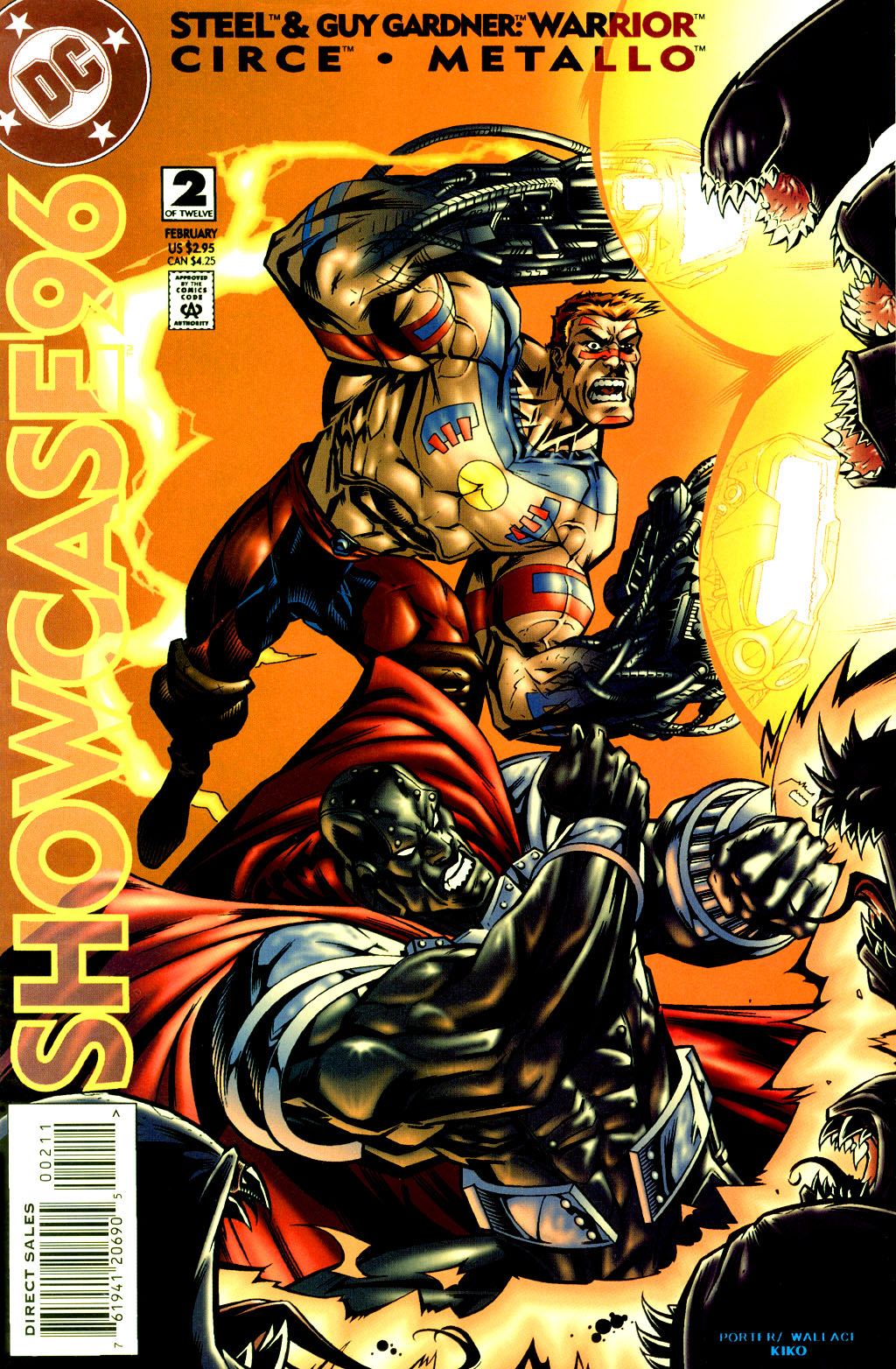 Read online Showcase '96 comic -  Issue #2 - 1