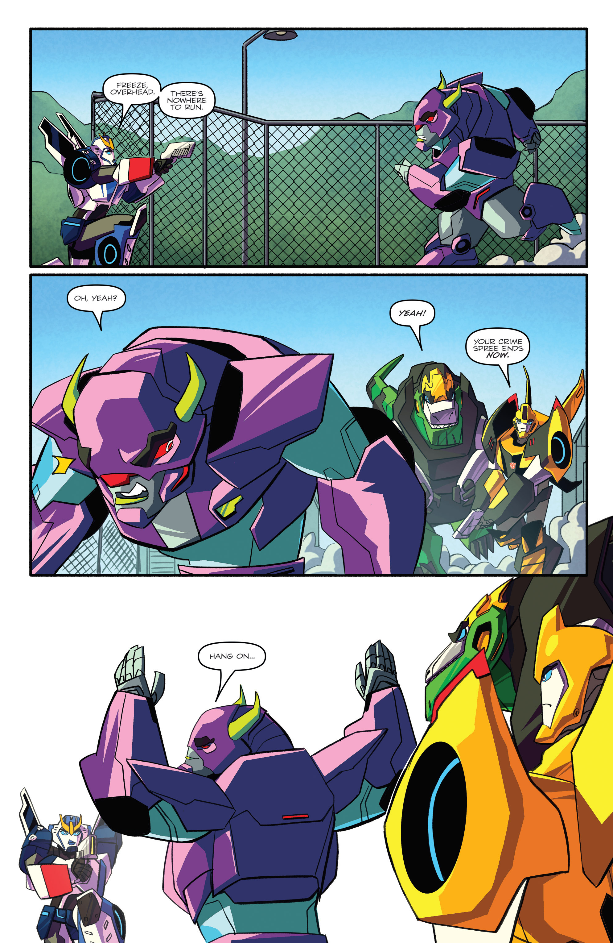 Read online Transformers: Robots In Disguise (2015) comic -  Issue #3 - 15