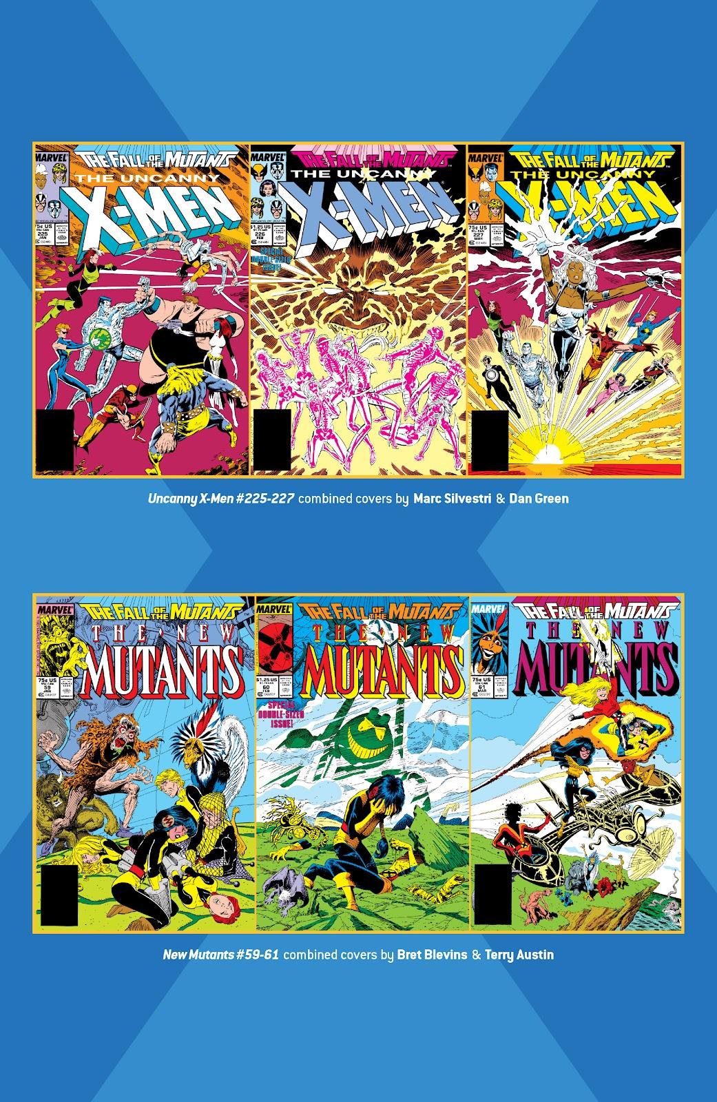 Read online X-Men Milestones: Fall of the Mutants comic -  Issue # TPB (Part 1) - 91