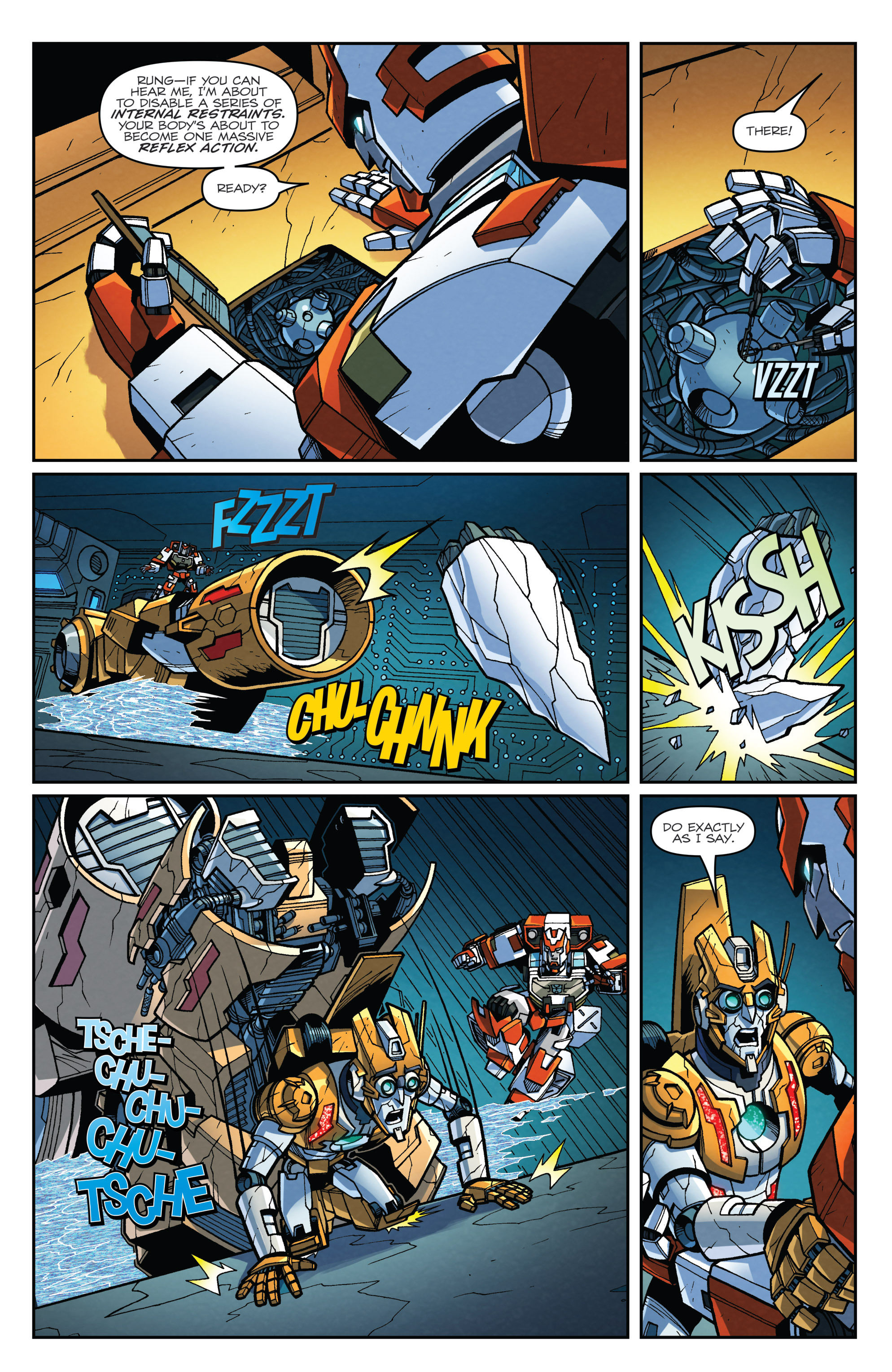 Read online Transformers: Lost Light comic -  Issue #4 - 21