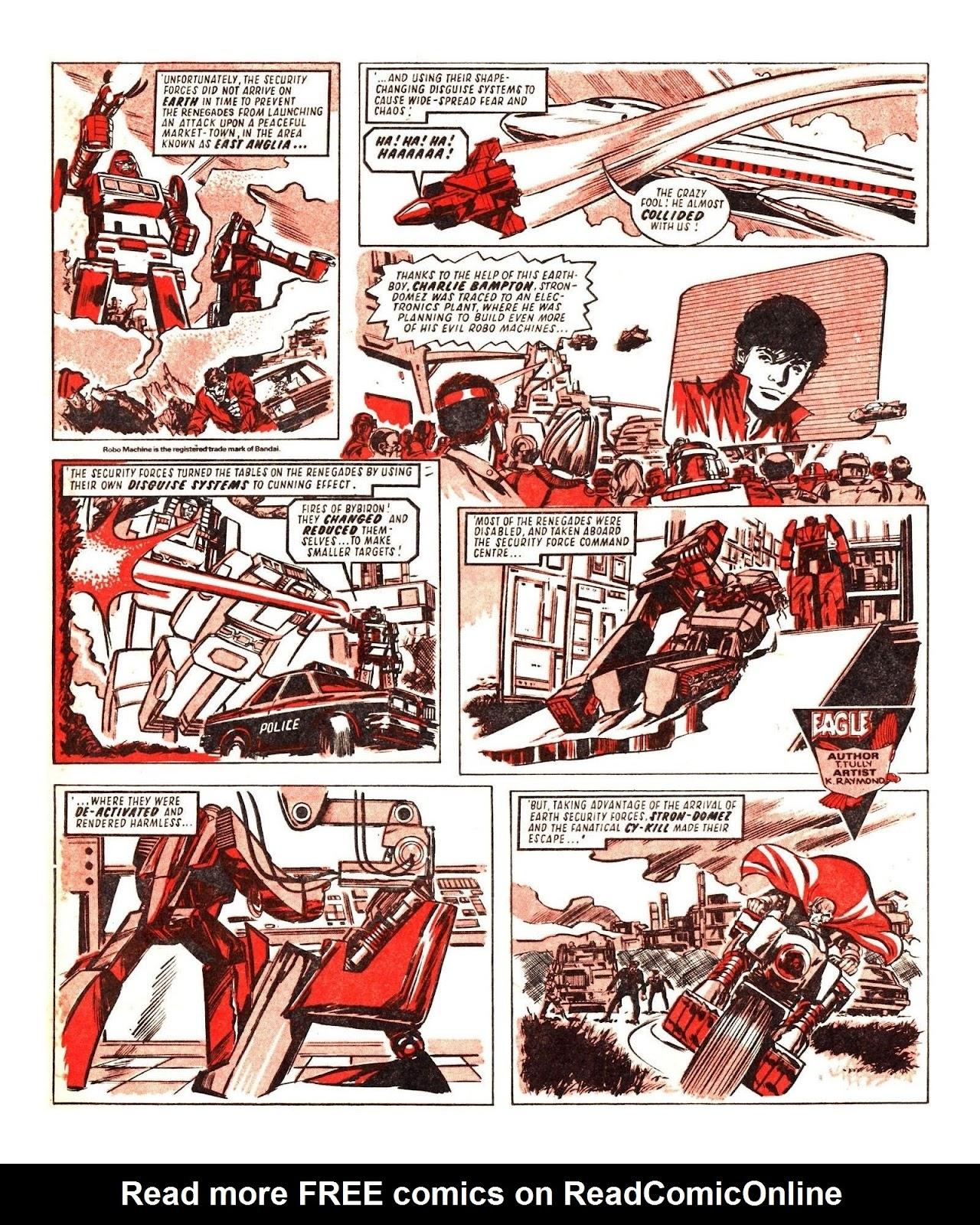 Read online Robo Machines comic -  Issue # TPB - 68