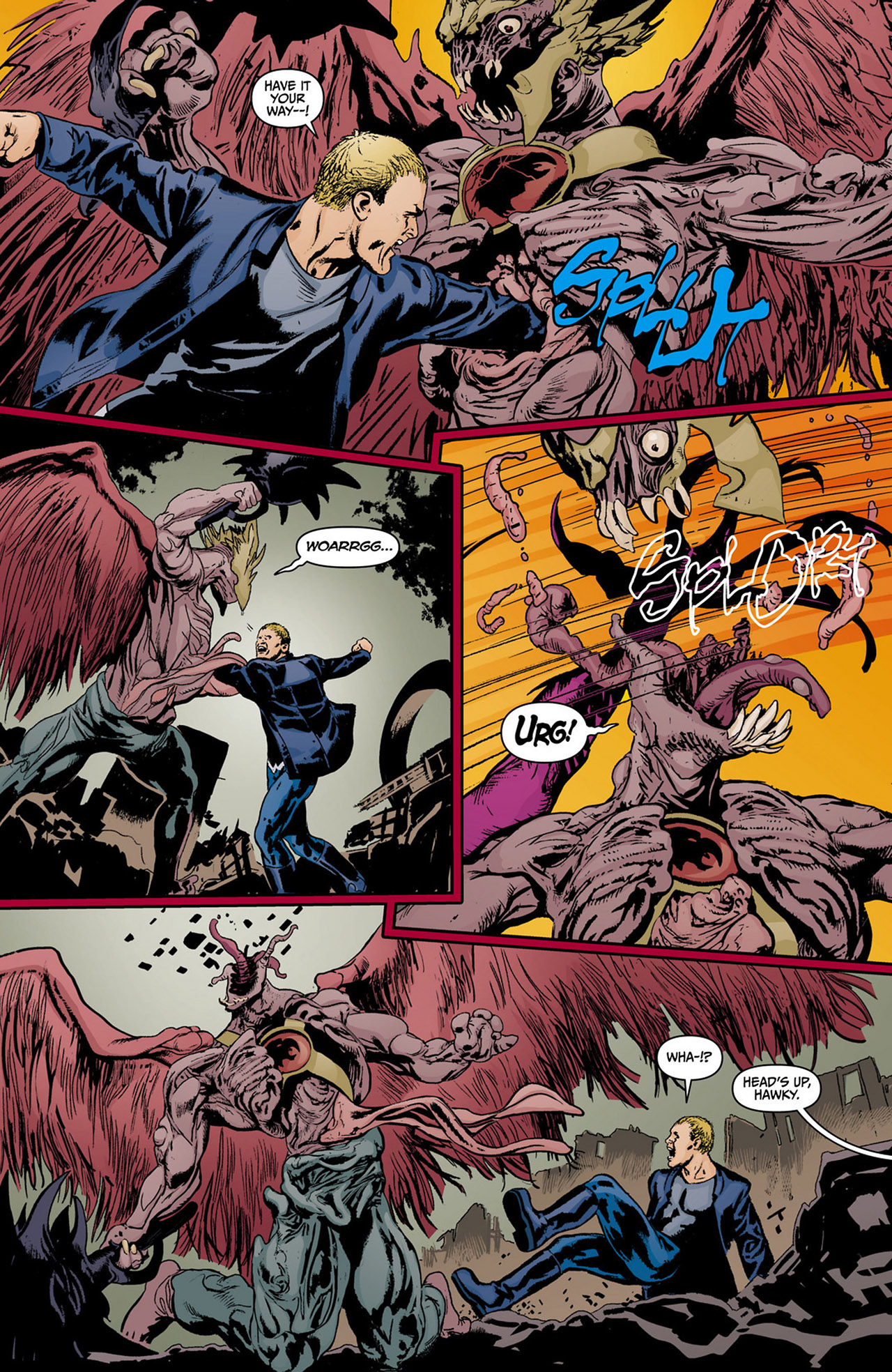 Read online Animal Man (2011) comic -  Issue #13 - 5