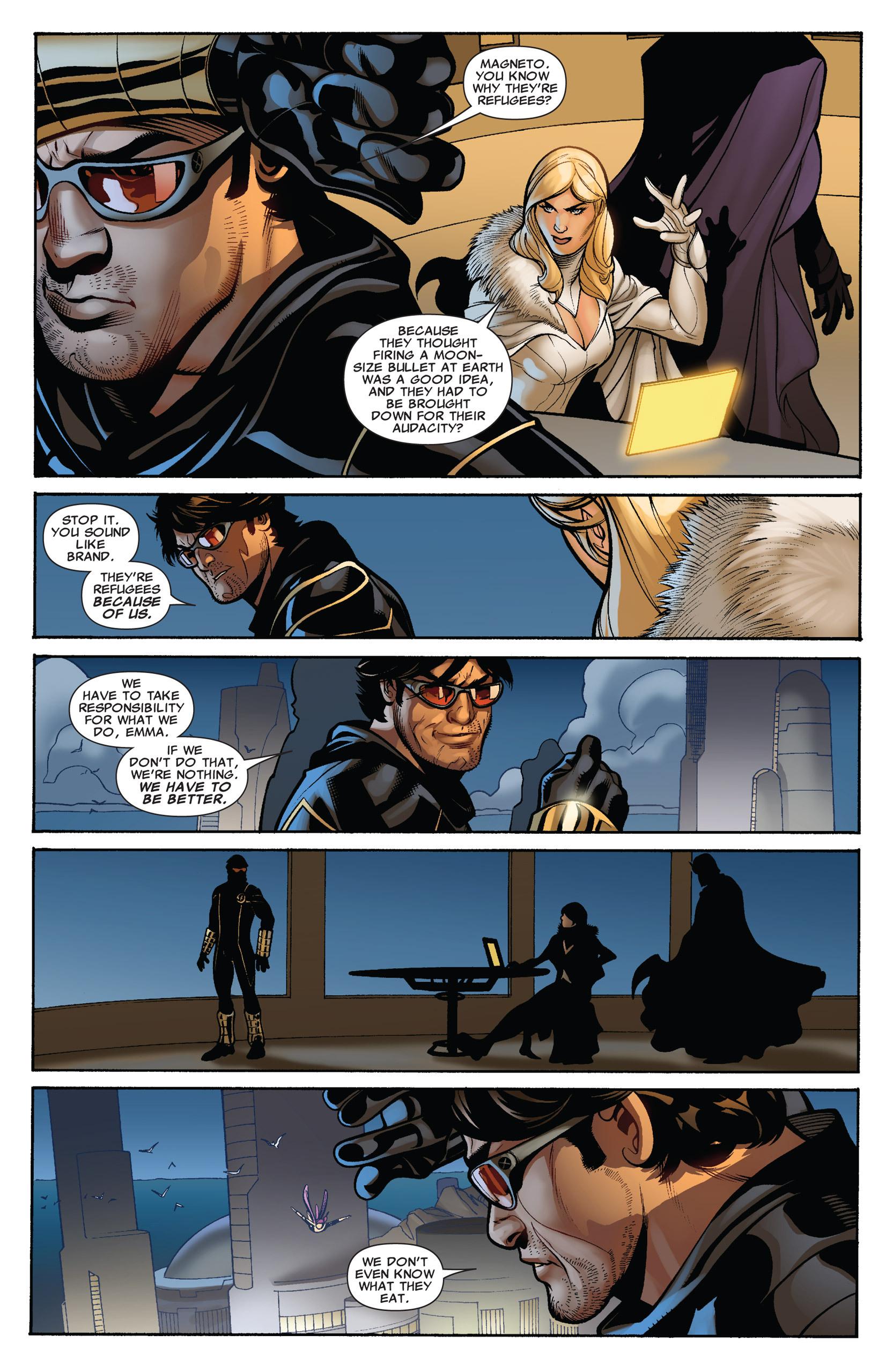 Read online Uncanny X-Men (1963) comic -  Issue #536 - 8