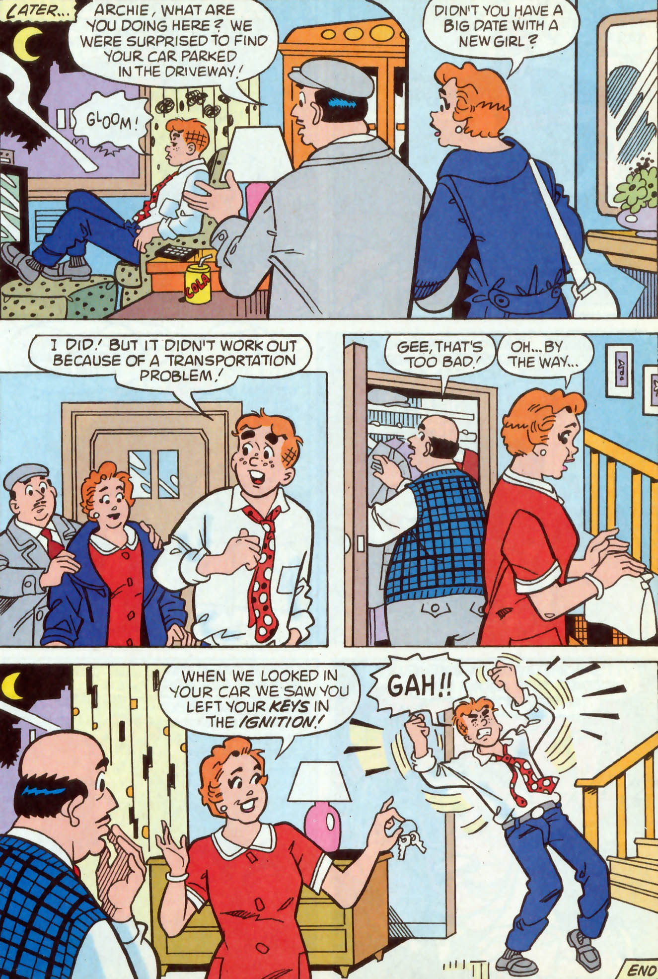 Read online Archie (1960) comic -  Issue #468 - 7