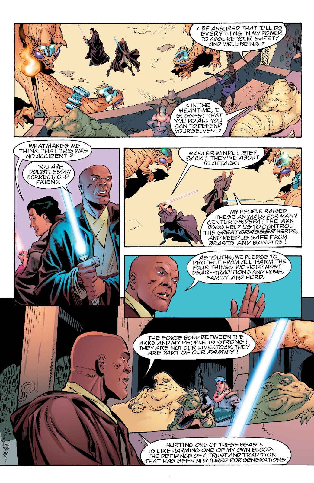 Read online Star Wars Legends Epic Collection: The Menace Revealed comic -  Issue # TPB (Part 4) - 73