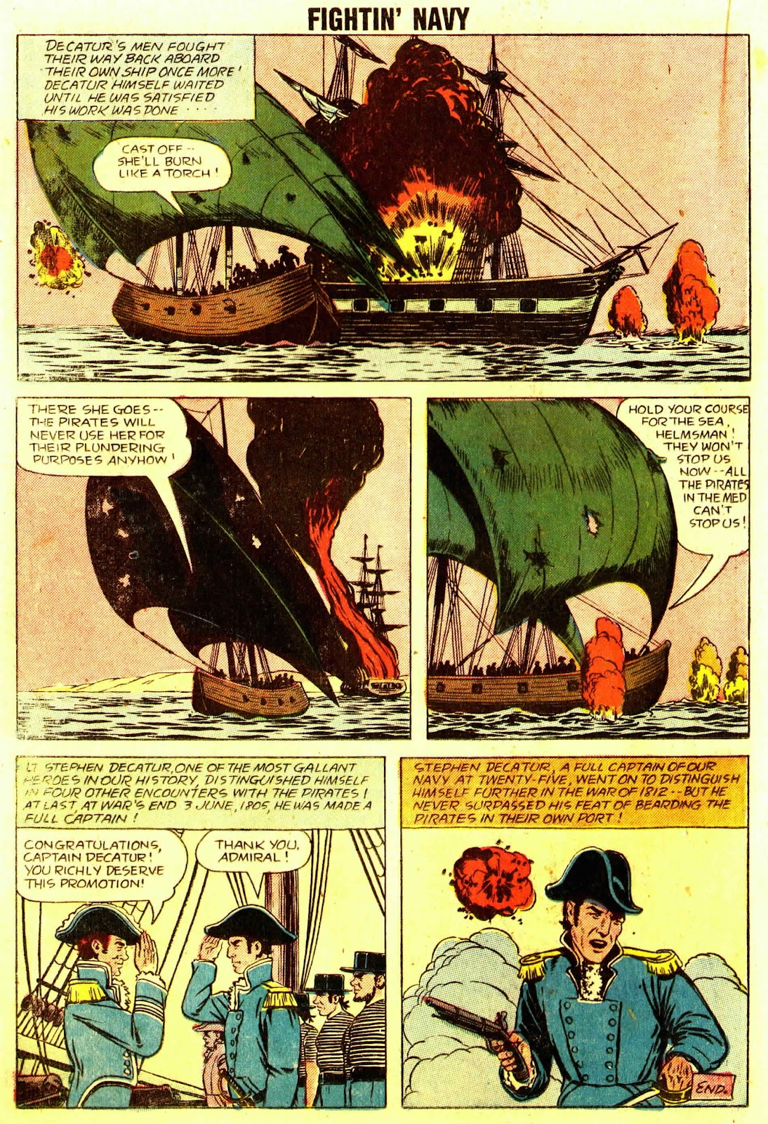 Read online Fightin' Navy comic -  Issue #83 - 32