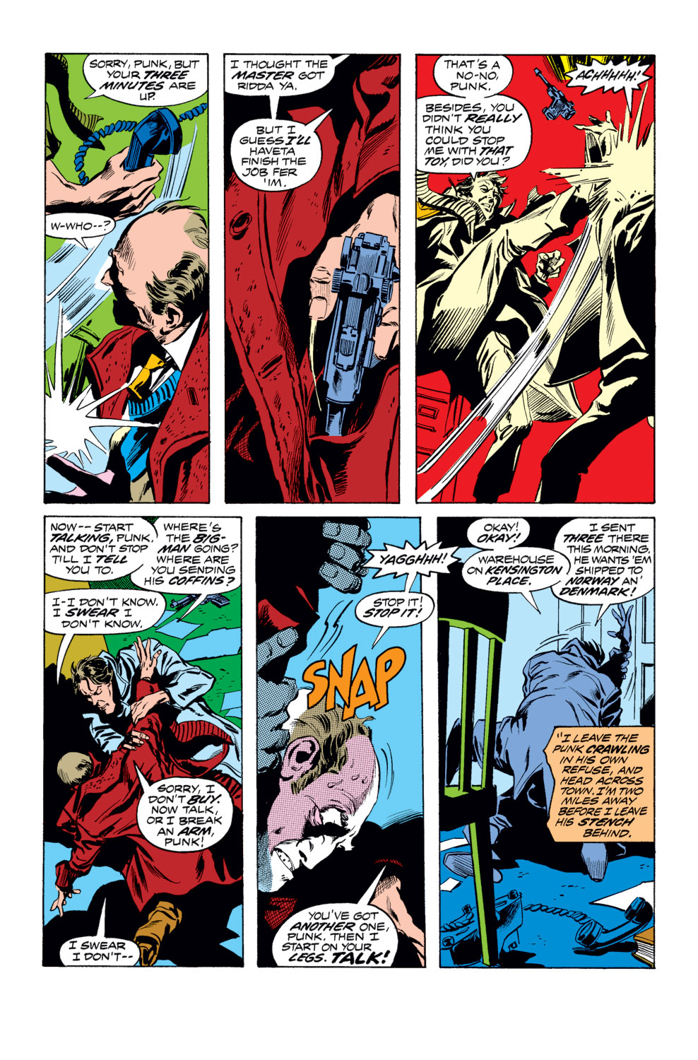Tomb of Dracula (1972) issue 25 - Page 13