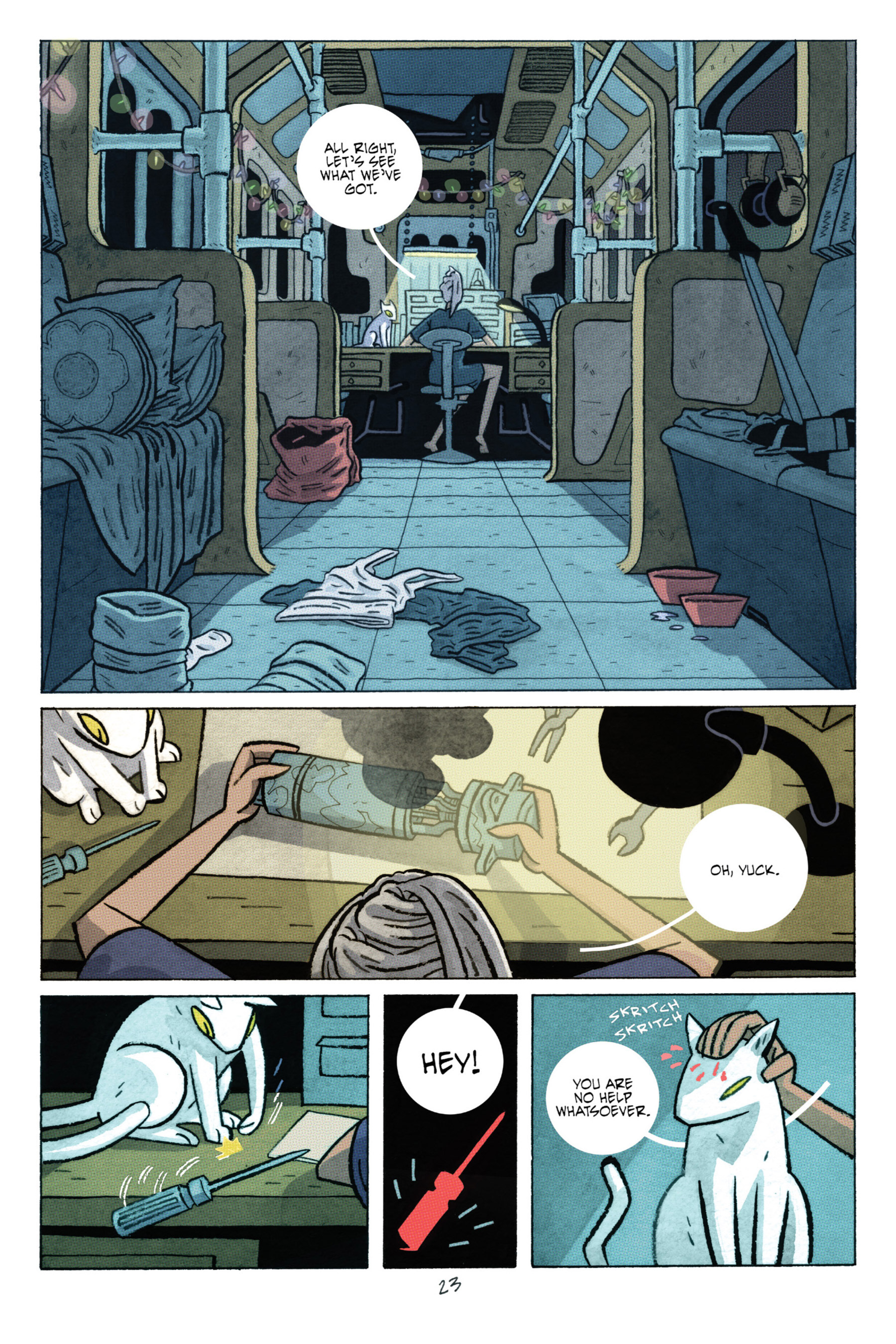 Read online ApocalyptiGirl: An Aria for the End Times comic -  Issue #ApocalyptiGirl: An Aria for the End Times Full - 31