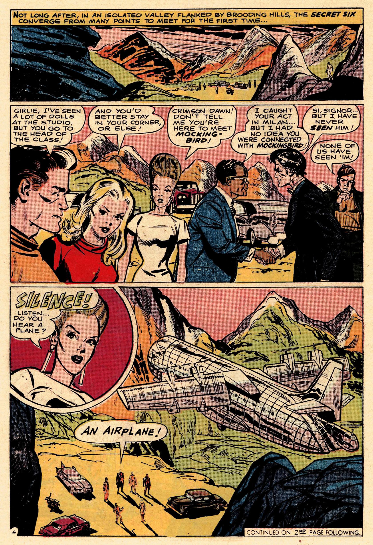 Read online Secret Six (1968) comic -  Issue #1 - 6