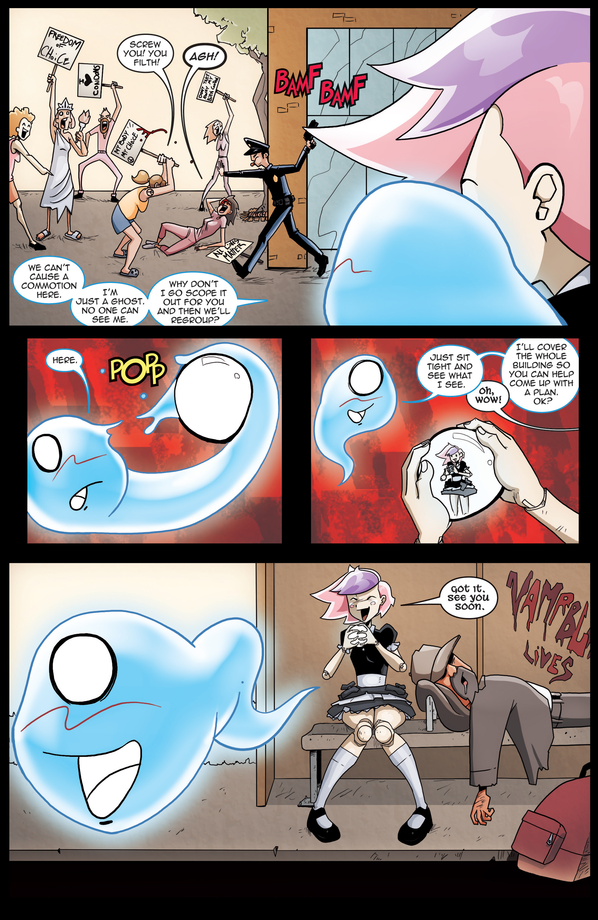 Read online Dollface comic -  Issue #5 - 11