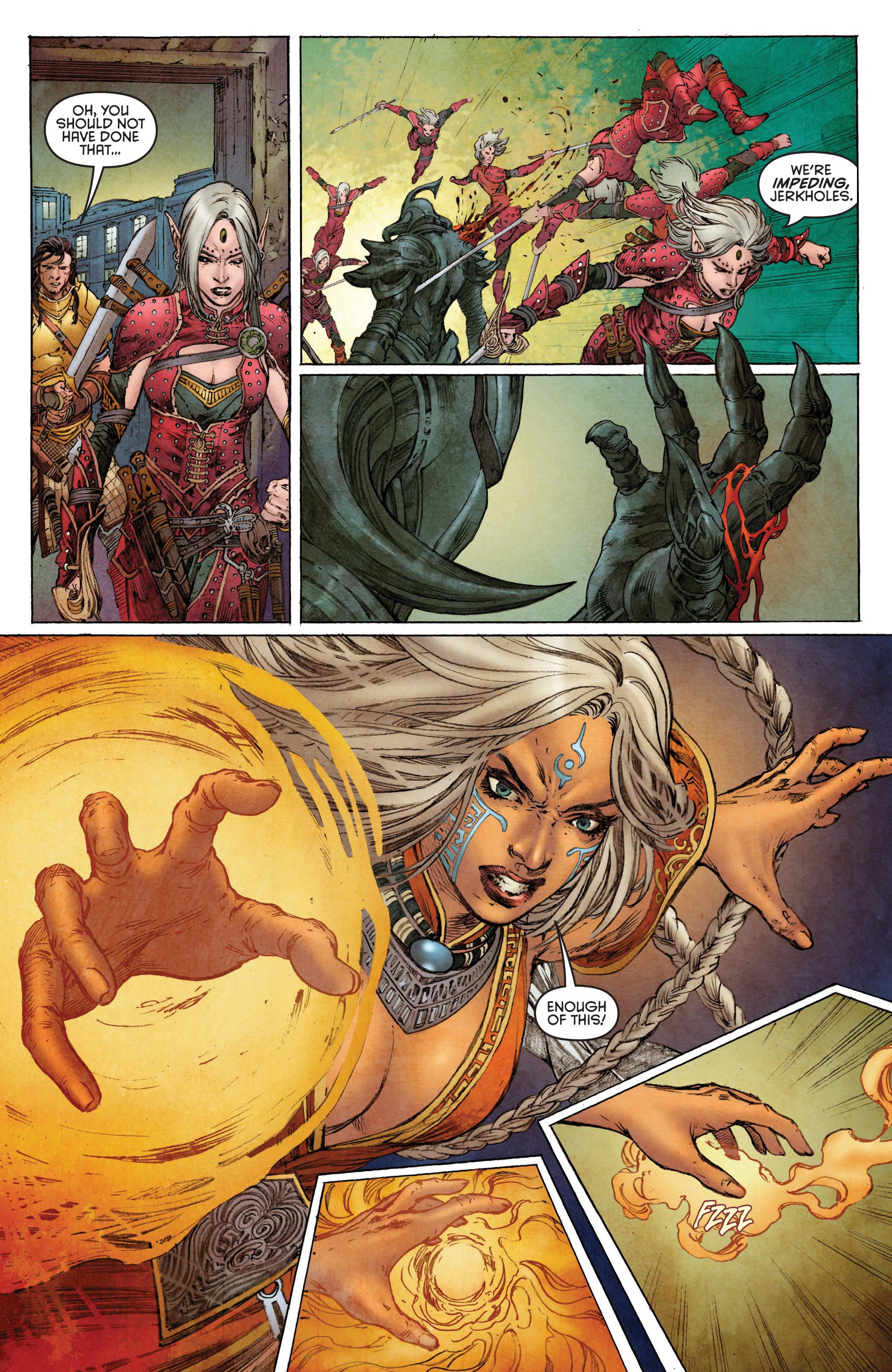Read online Pathfinder: Runescars comic -  Issue #1 - 8