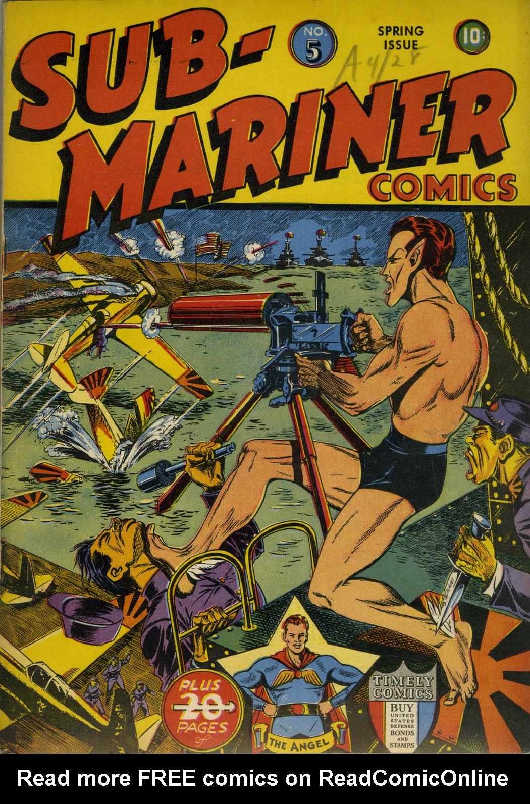 Sub-Mariner Comics 5 Page 1