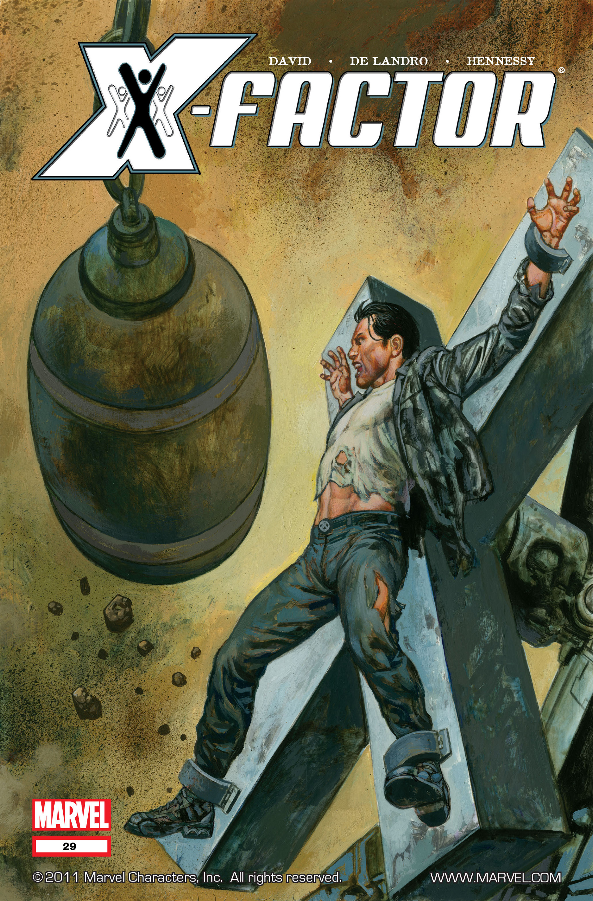Read online X-Factor (2006) comic -  Issue #29 - 1