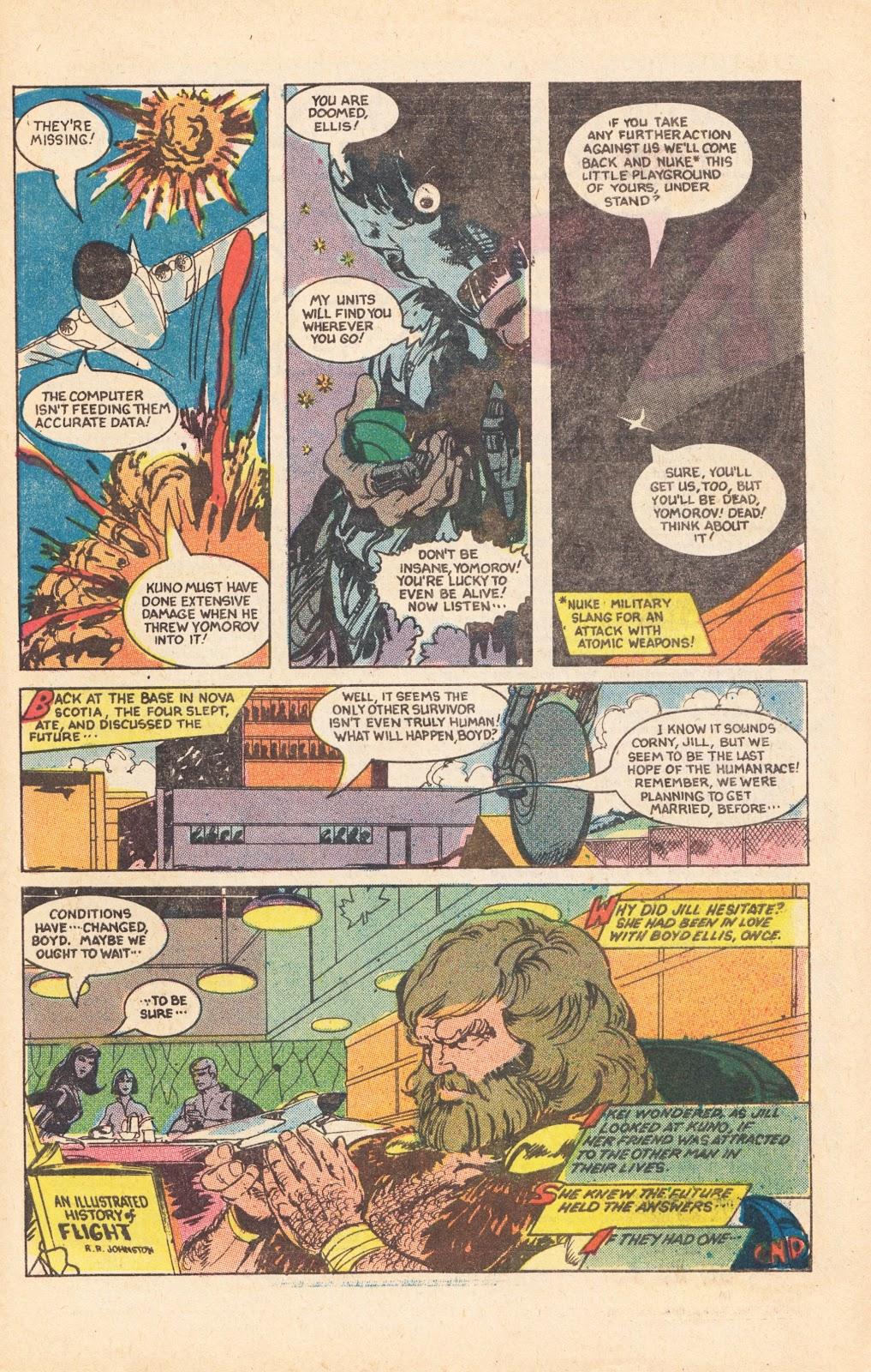 Read online Doomsday   1 (1975) comic -  Issue #8 - 30