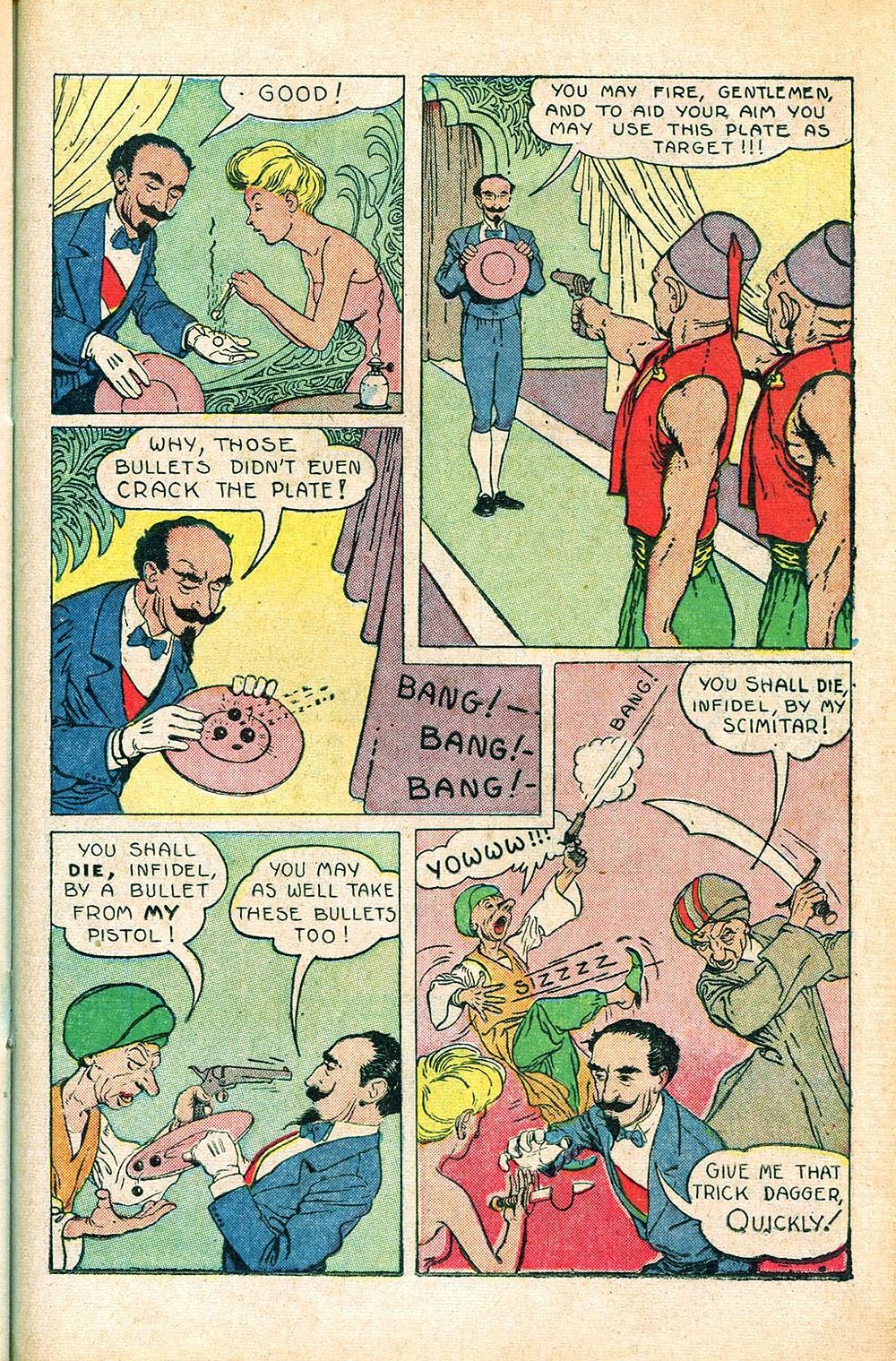 Read online Super-Magician Comics comic -  Issue #55 - 29