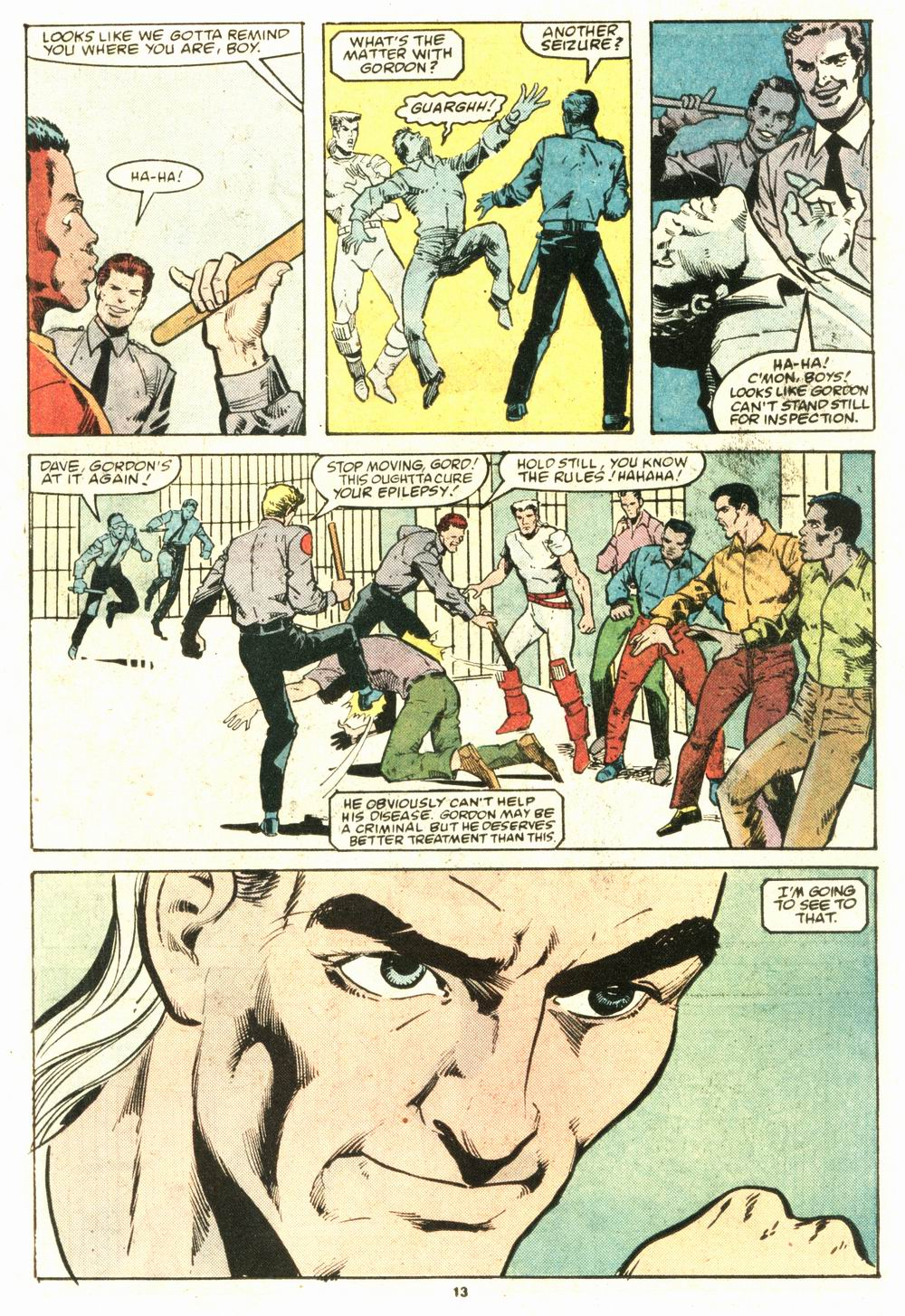 Read online Justice (1986) comic -  Issue #8 - 14