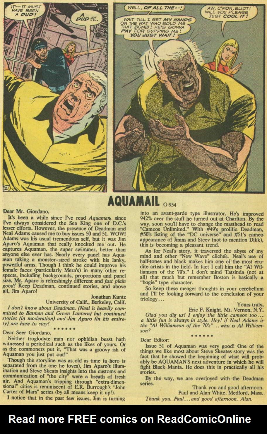 Read online Aquaman (1962) comic -  Issue #53 - 26