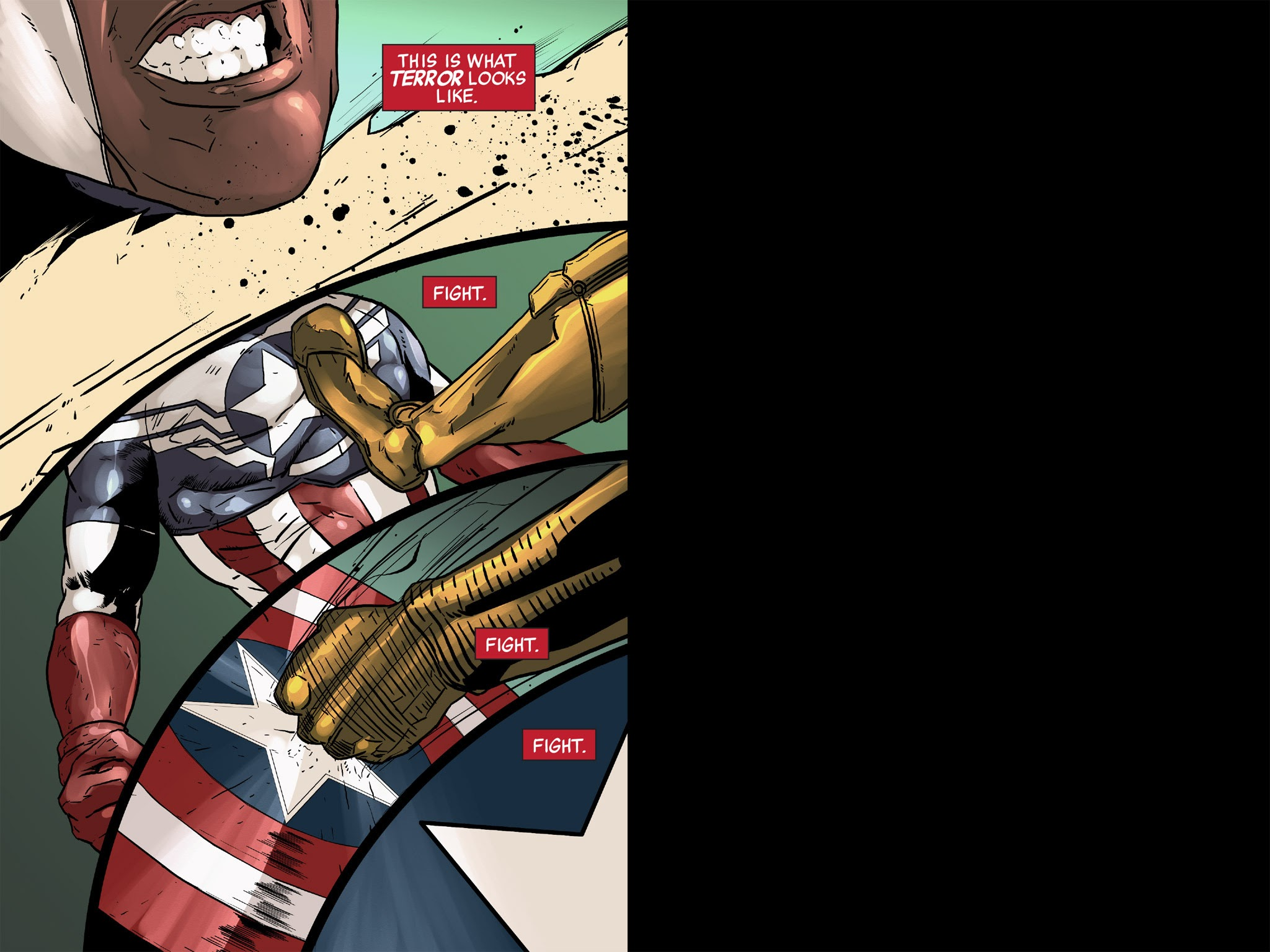 All-New Captain America: Fear Him 5 Page 1