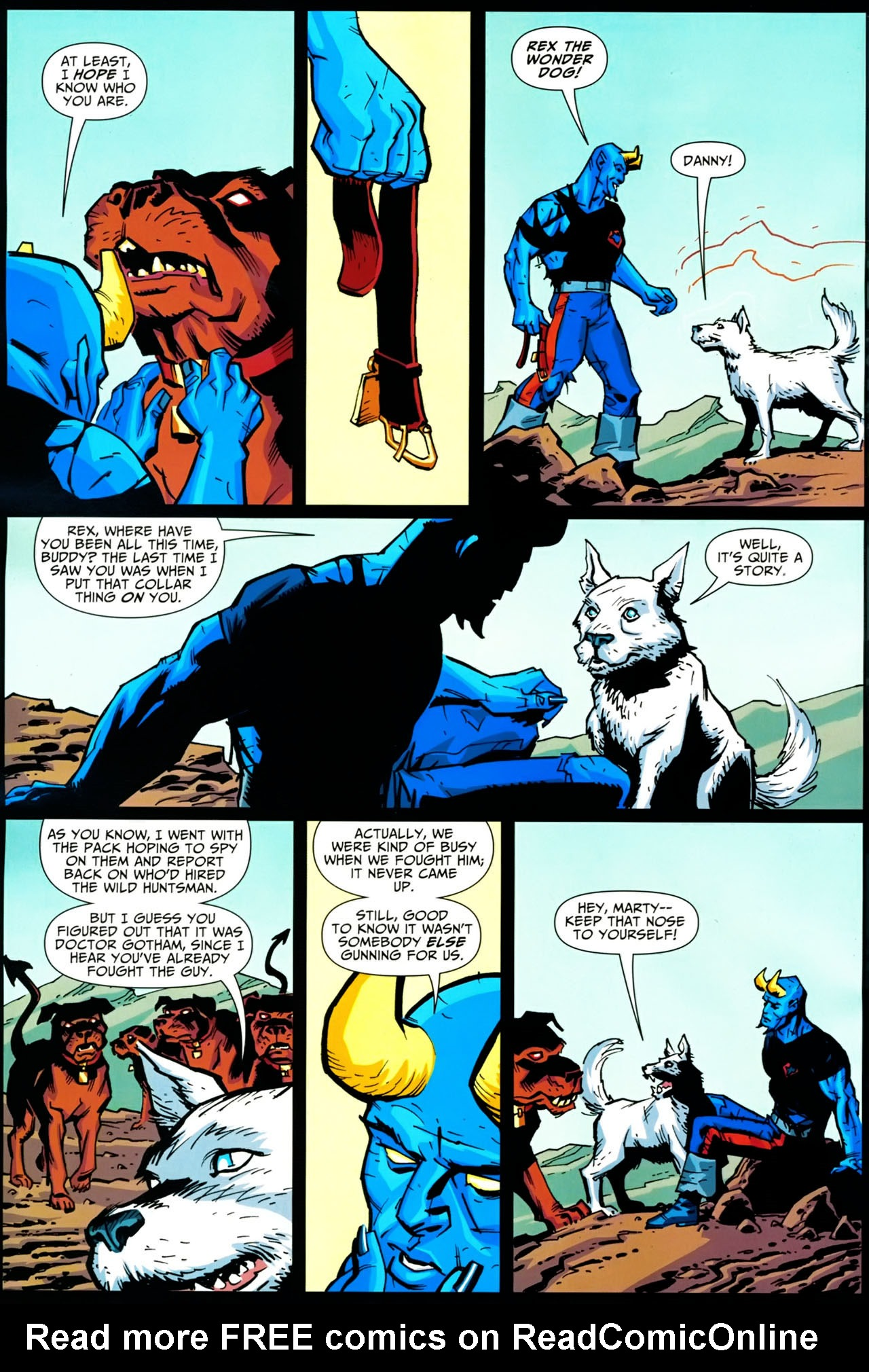 Read online Shadowpact comic -  Issue #20 - 16