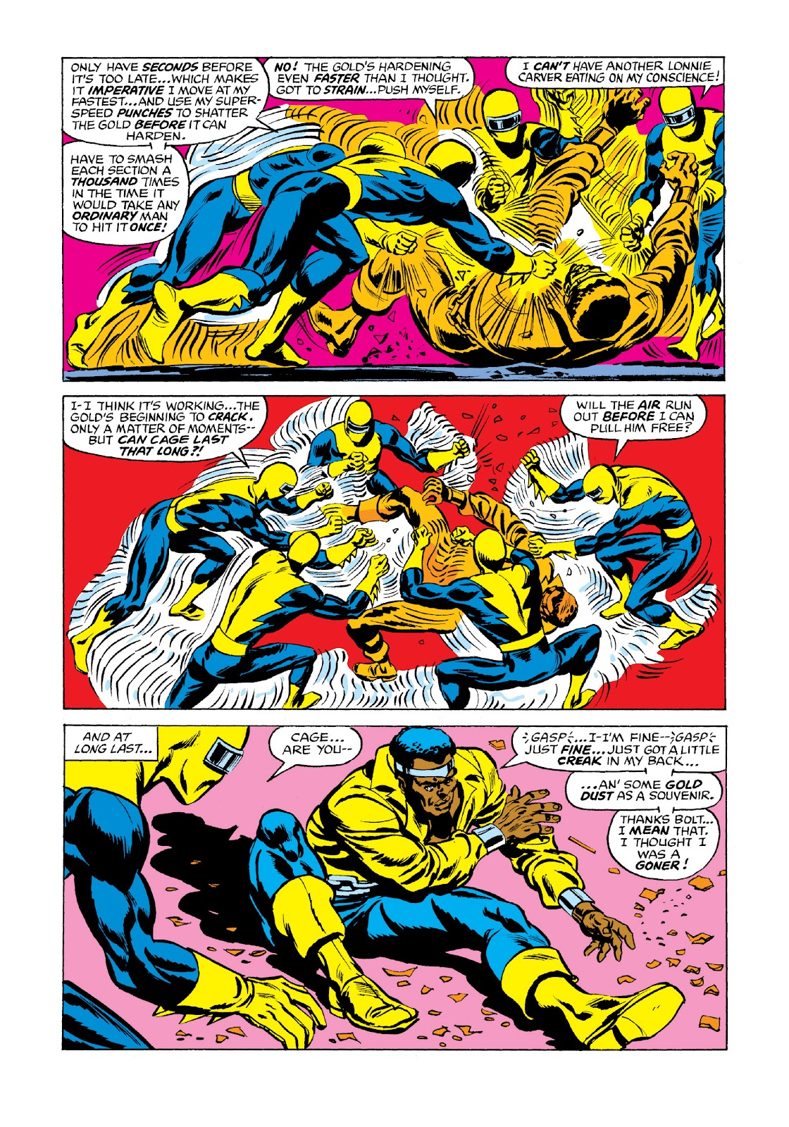 Read online Marvel Masterworks: Luke Cage, Power Man comic -  Issue # TPB 3 (Part 3) - 7