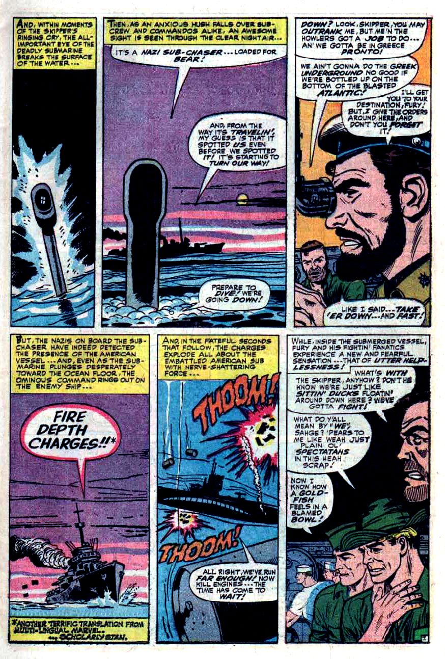 Read online Sgt. Fury comic -  Issue #33 - 11