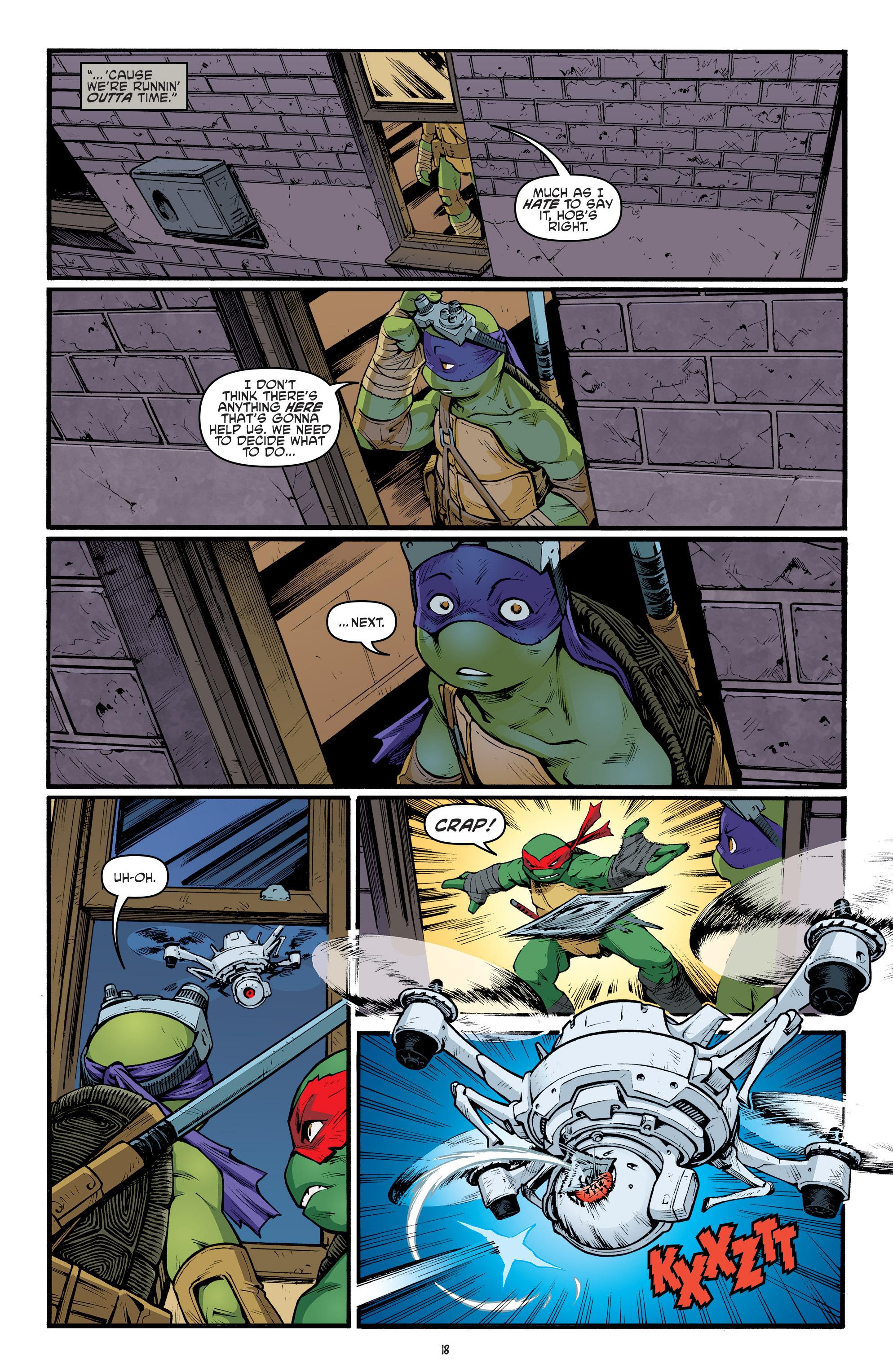 Read online Teenage Mutant Ninja Turtles (2011) comic -  Issue #68 - 20