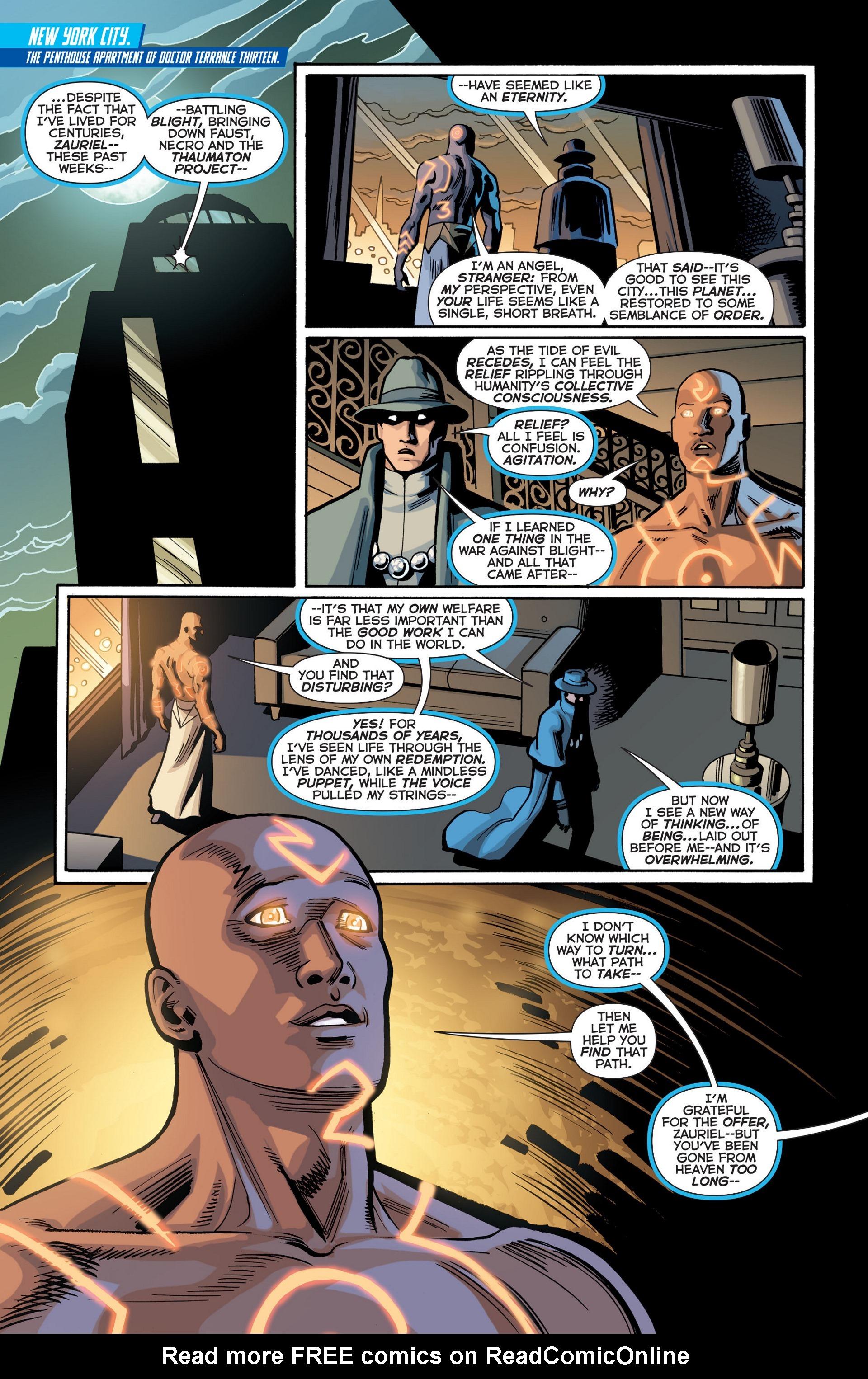 Read online Trinity of Sin: The Phantom Stranger comic -  Issue #18 - 4