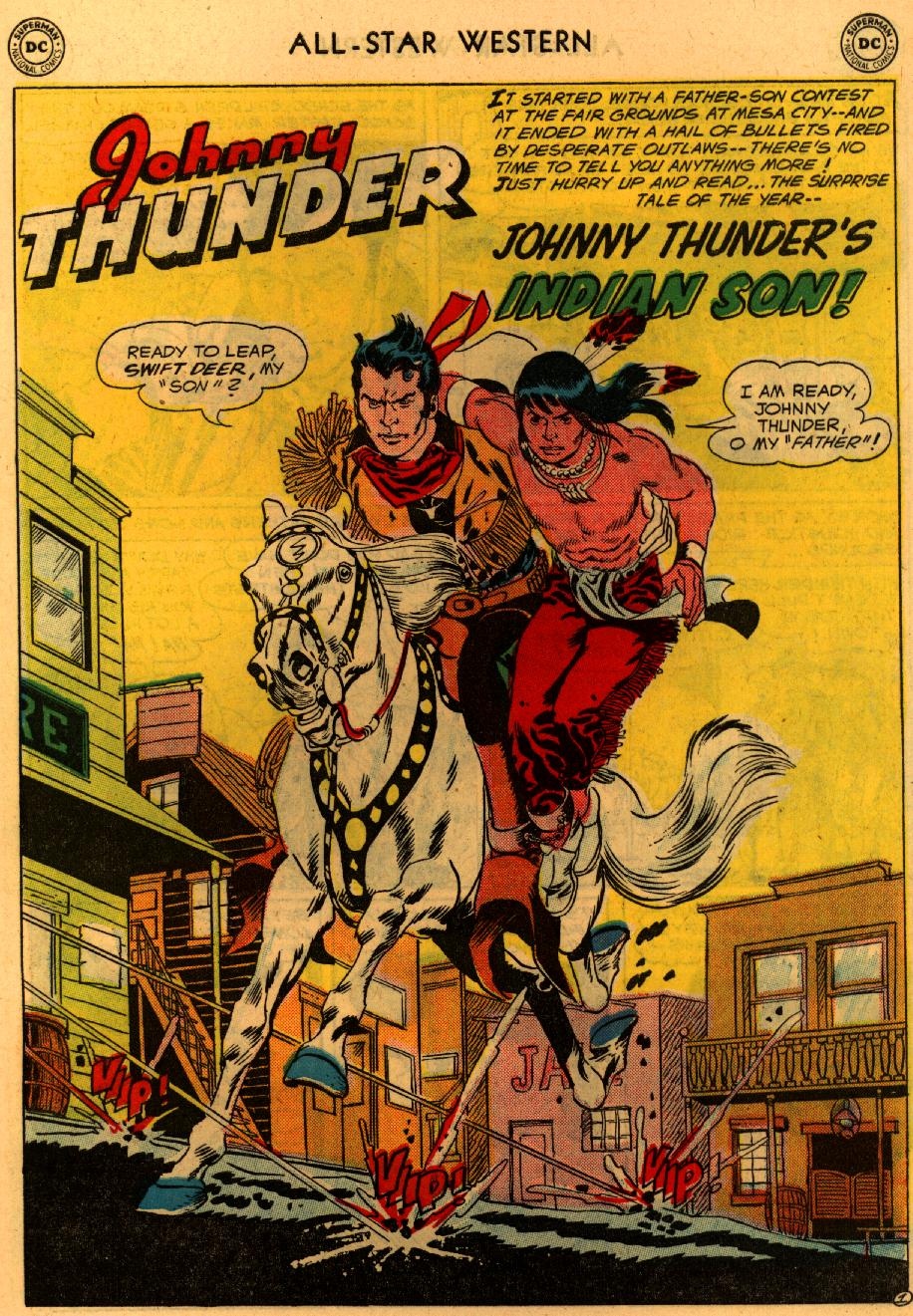 Read online All-Star Western (1951) comic -  Issue #94 - 28