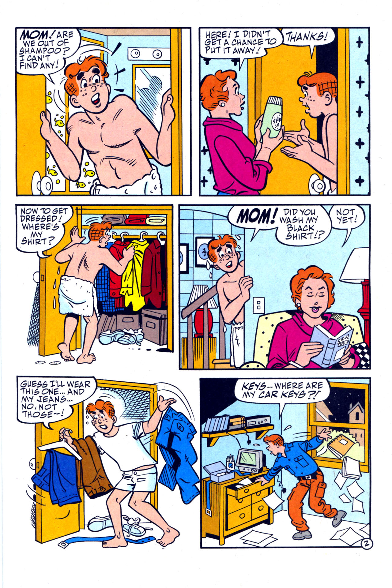 Read online Archie (1960) comic -  Issue #579 - 9