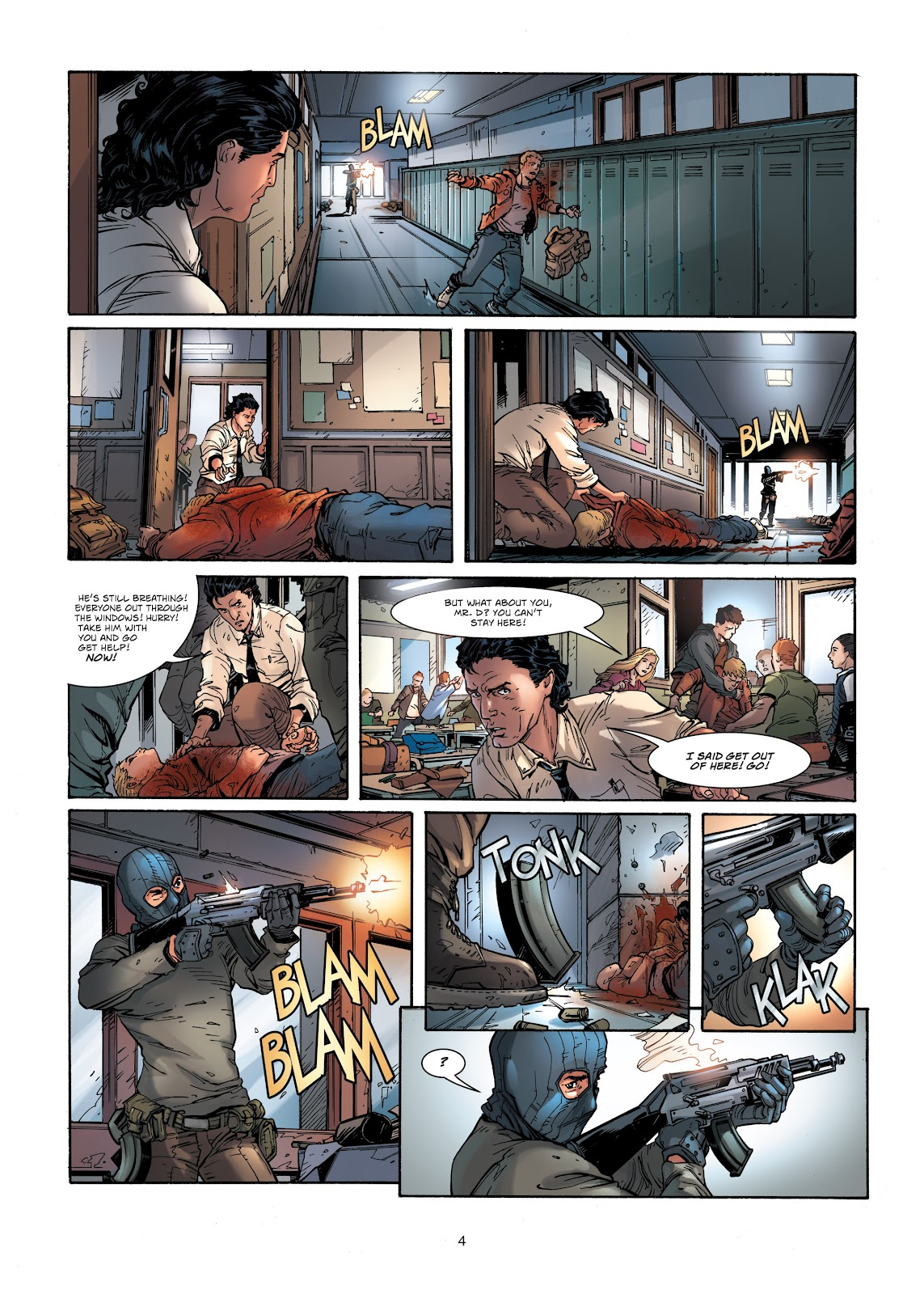 Read online Vigilantes comic -  Issue #1 - 4