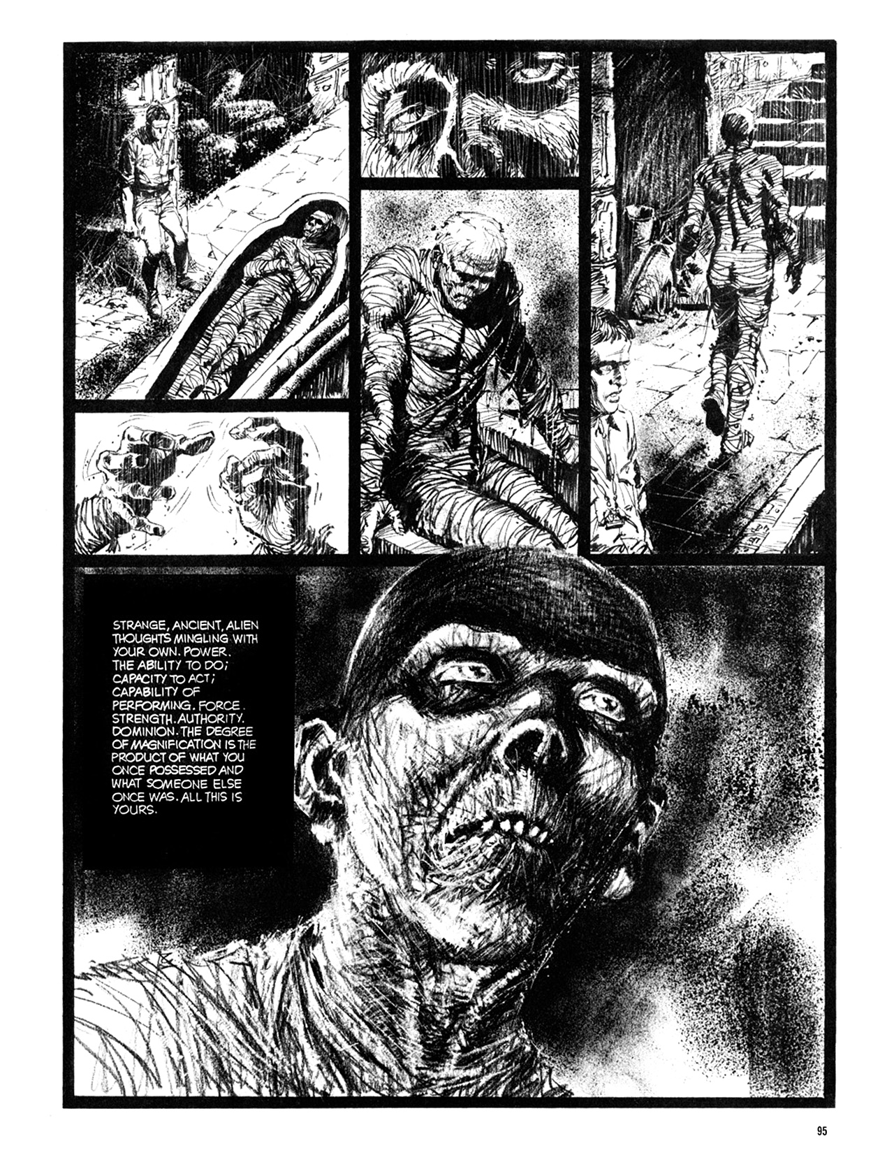 Read online Eerie Archives comic -  Issue # TPB 10 - 96