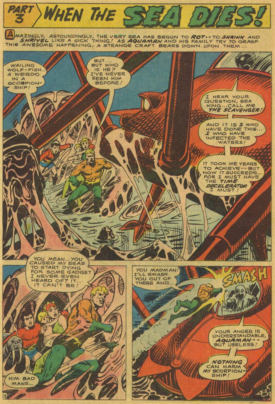 Read online Aquaman (1962) comic -  Issue #37 - 12