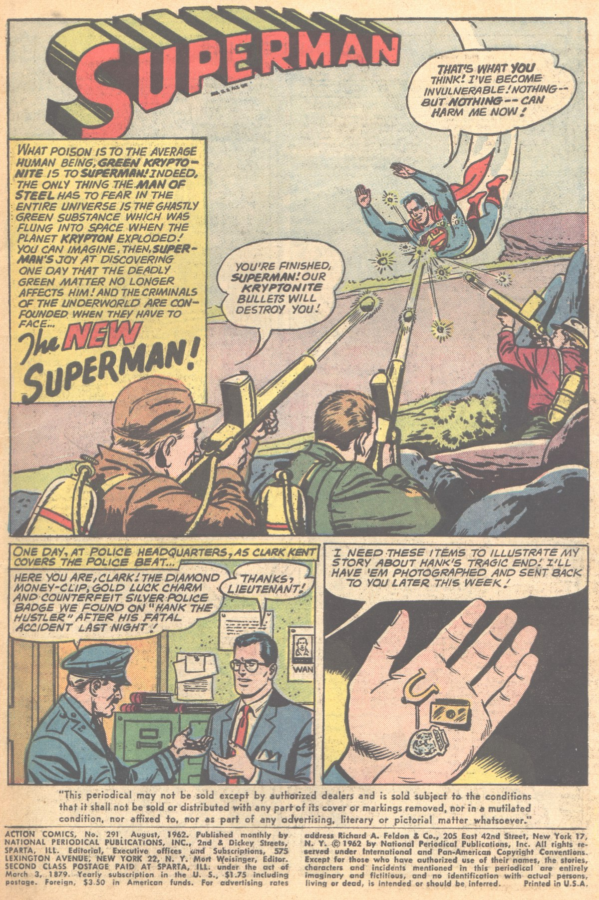 Read online Action Comics (1938) comic -  Issue #291 - 3