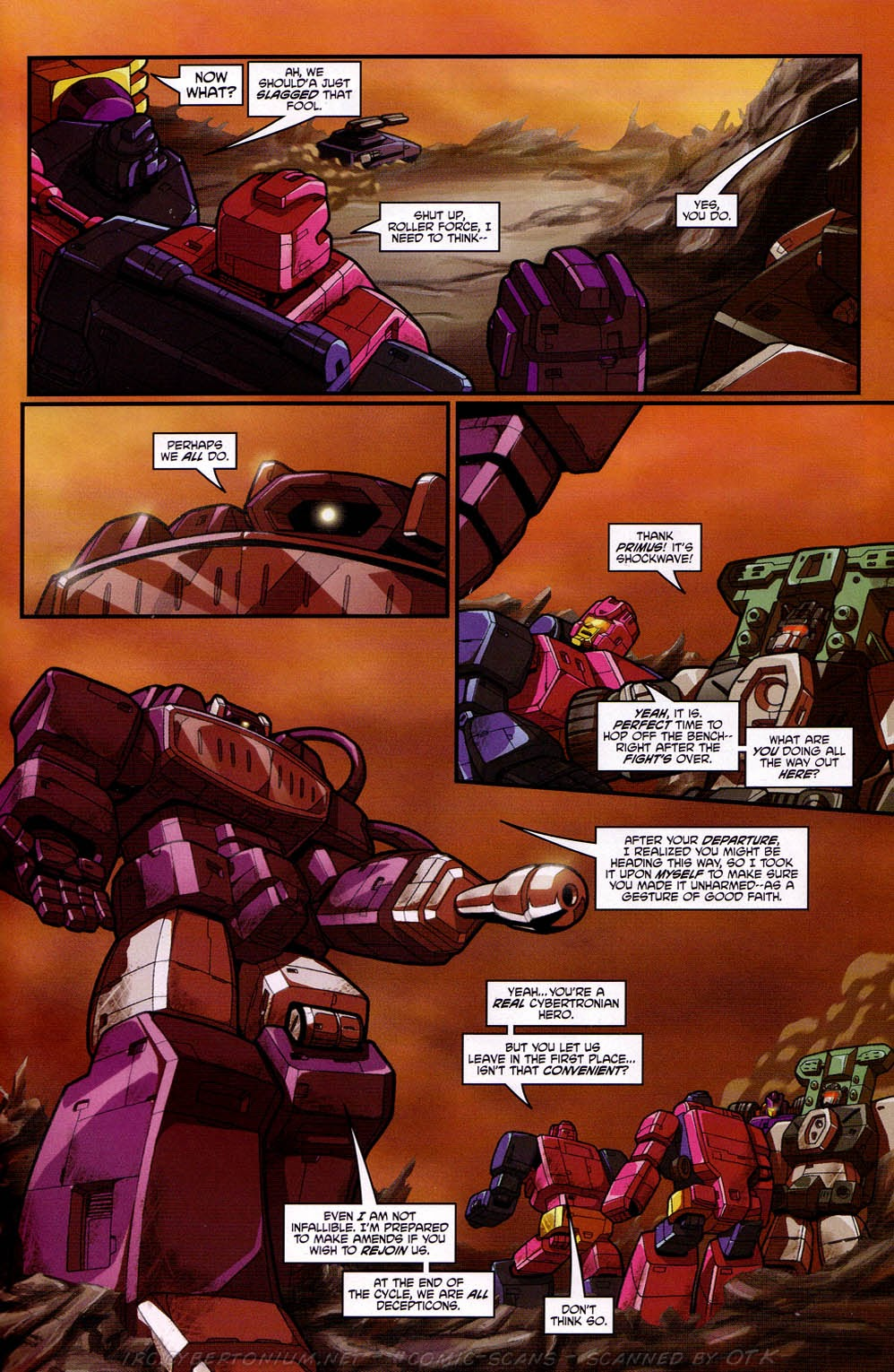 Read online Transformers: Micromasters comic -  Issue #2 - 8