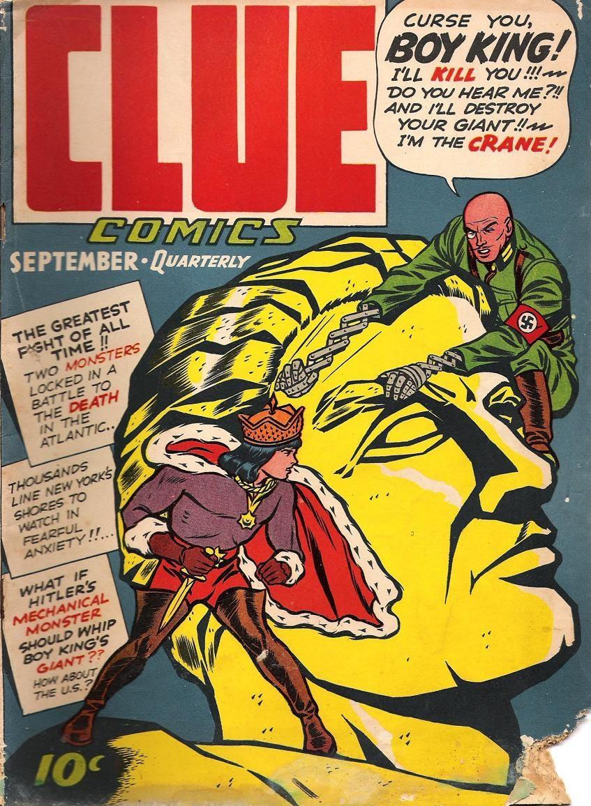 Clue Comics 5 Page 1