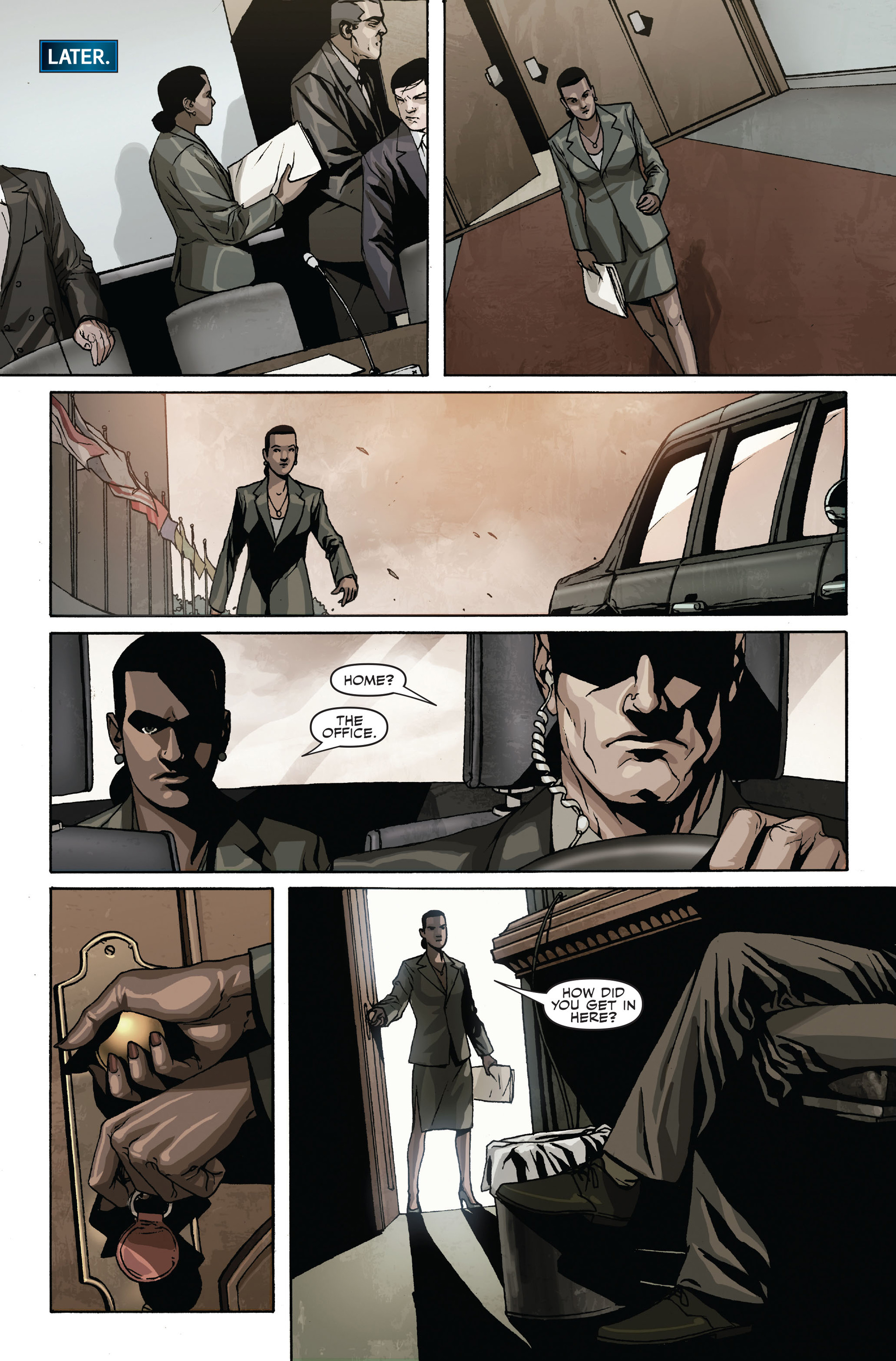 Read online Secret Warriors comic -  Issue #19 - 19