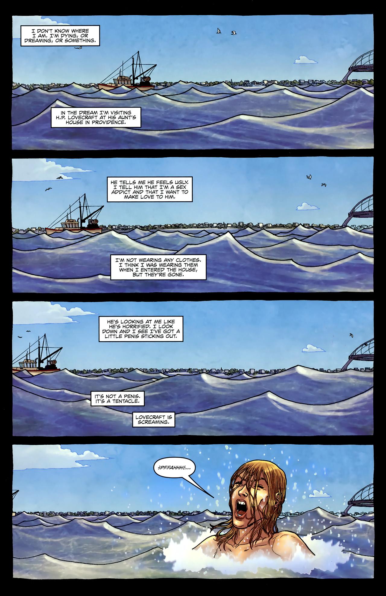Read online Alan Moore's Neonomicon comic -  Issue #4 - 5