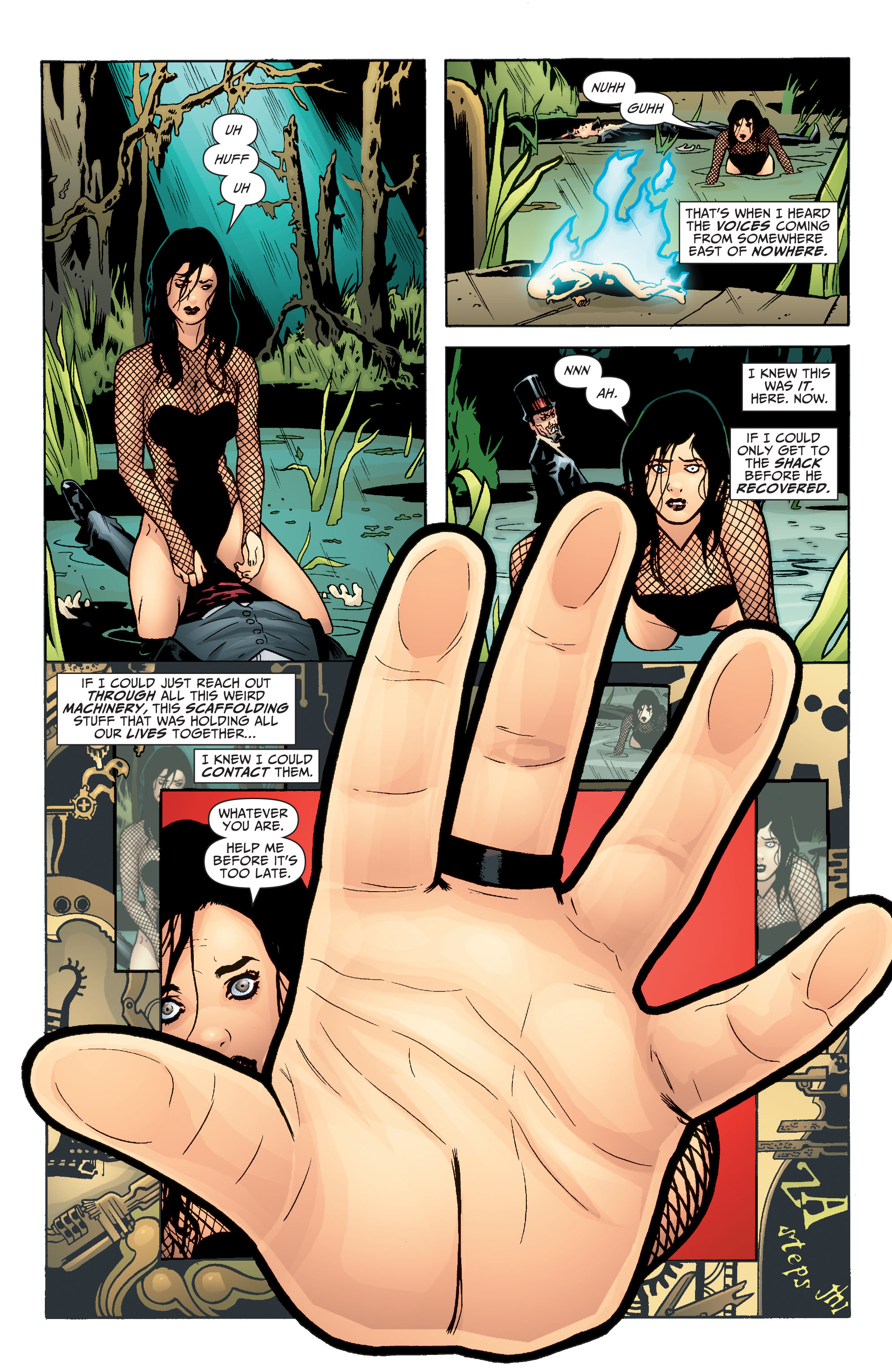 Read online Seven Soldiers: Zatanna comic -  Issue #4 - 16