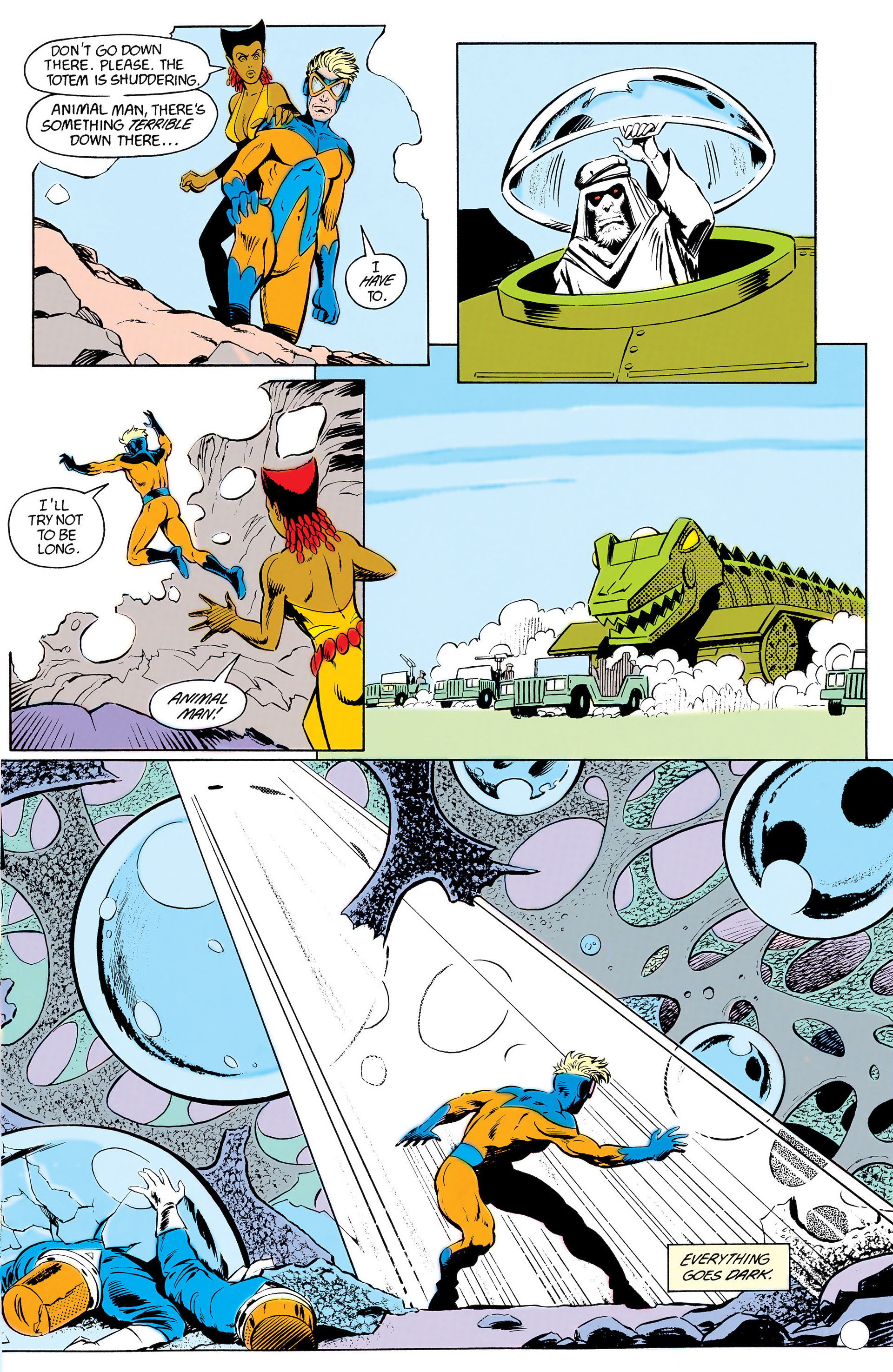 Read online Animal Man (1988) comic -  Issue #12 - 11