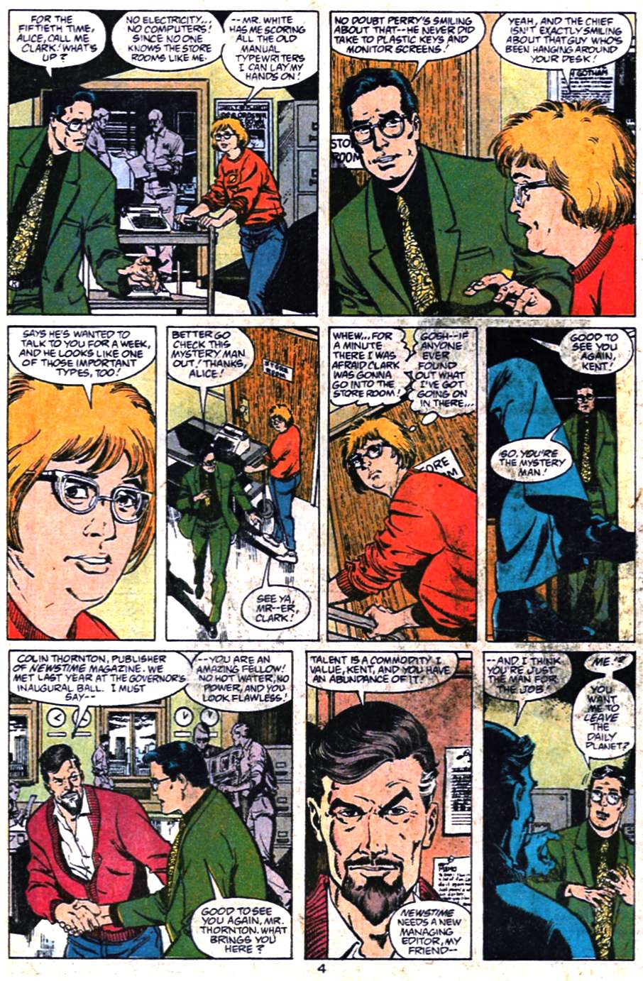 Read online Adventures of Superman (1987) comic -  Issue #461 - 5